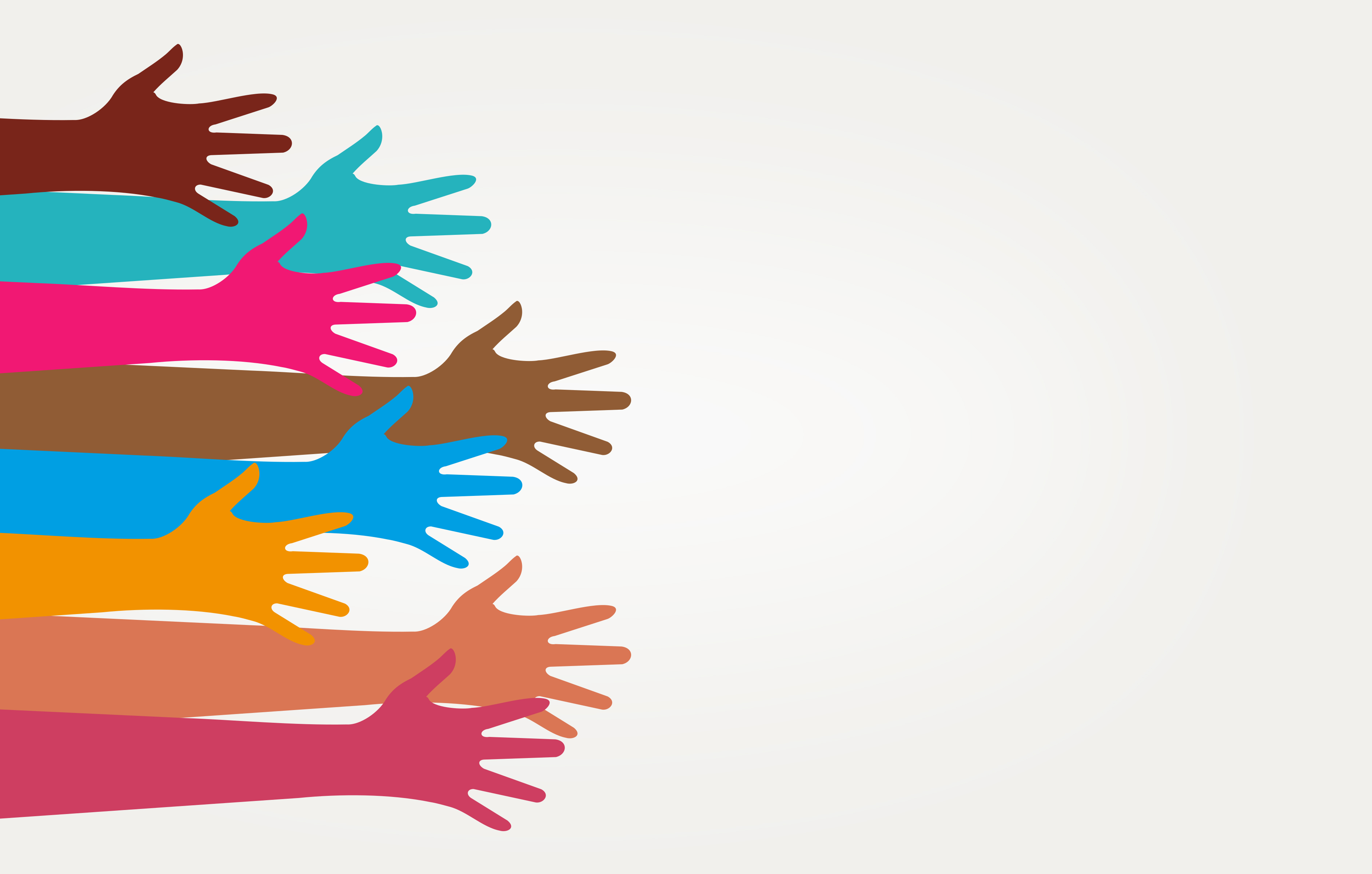 Teamwork and partnership - illustration with copyspace photo