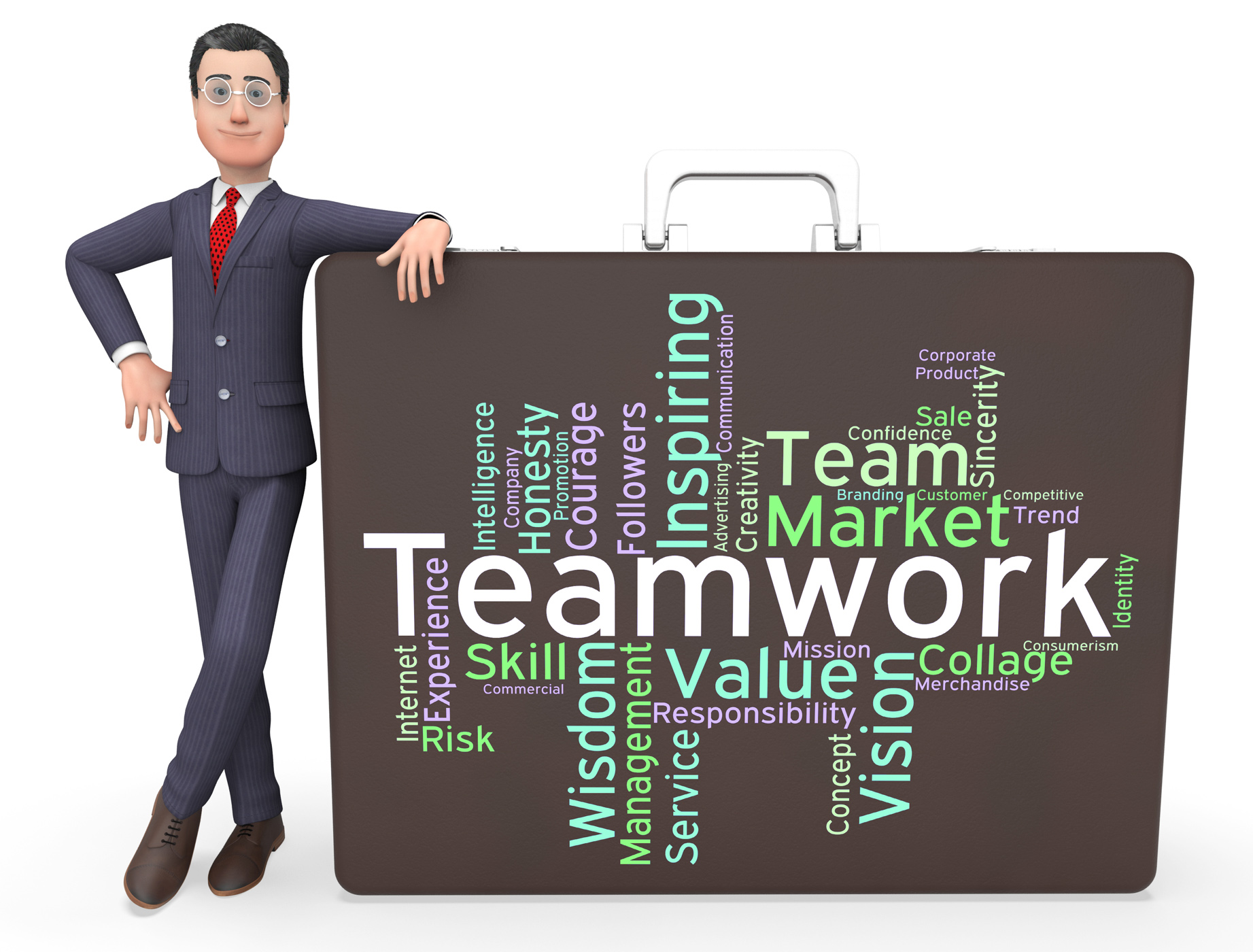Free photo: Teamwork Words Means Teams Unit And Unity - Unit