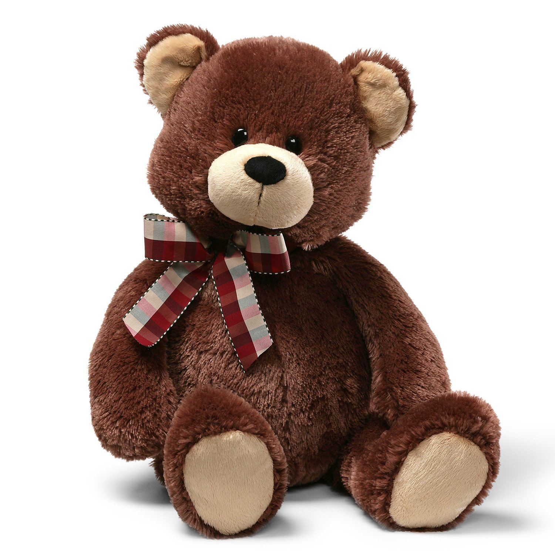 Amazon.com: GUND TD Teddy Bear Stuffed Animal Plush, Chocolate Brown ...