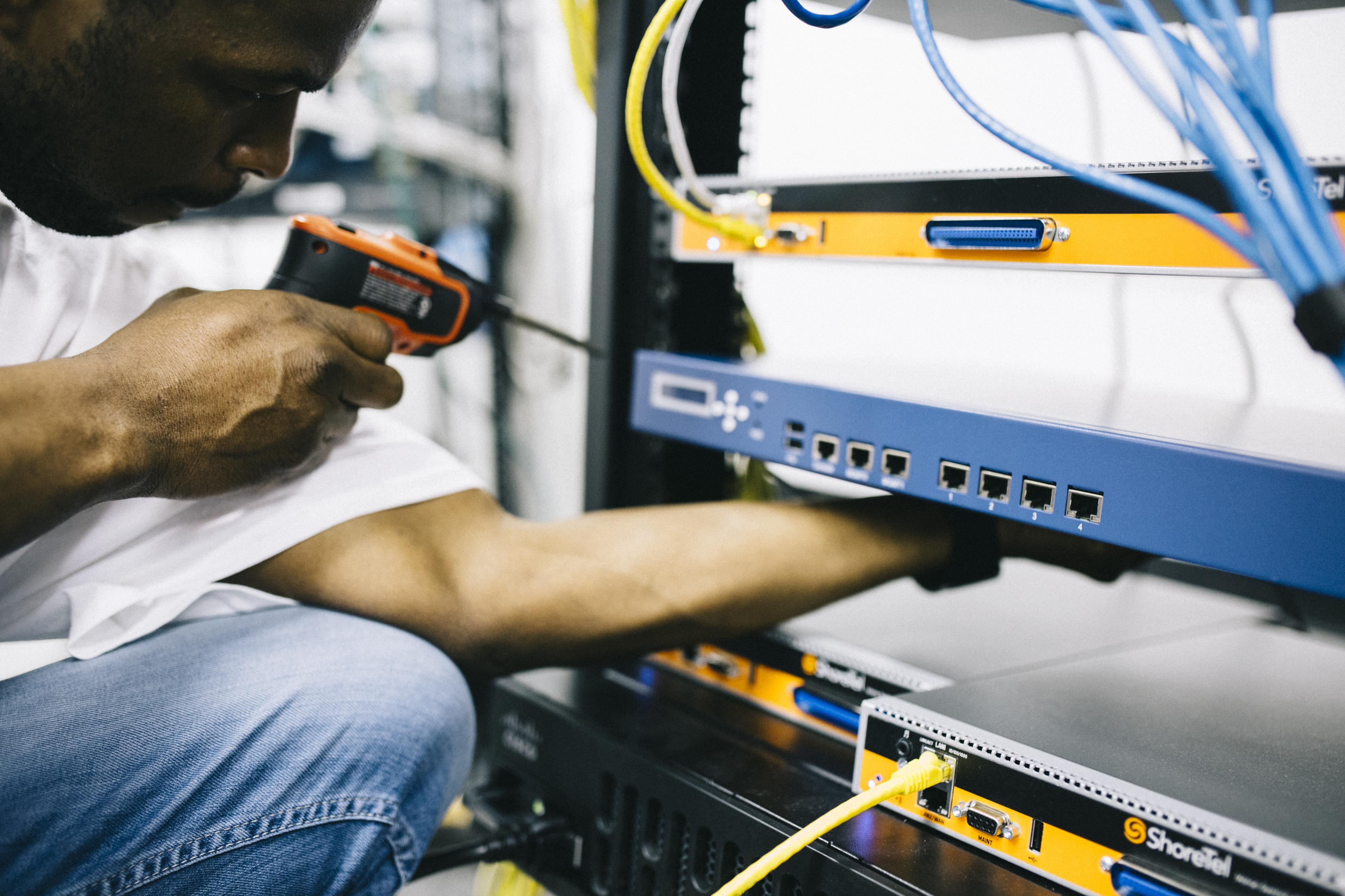 Telecommunications engineer photo