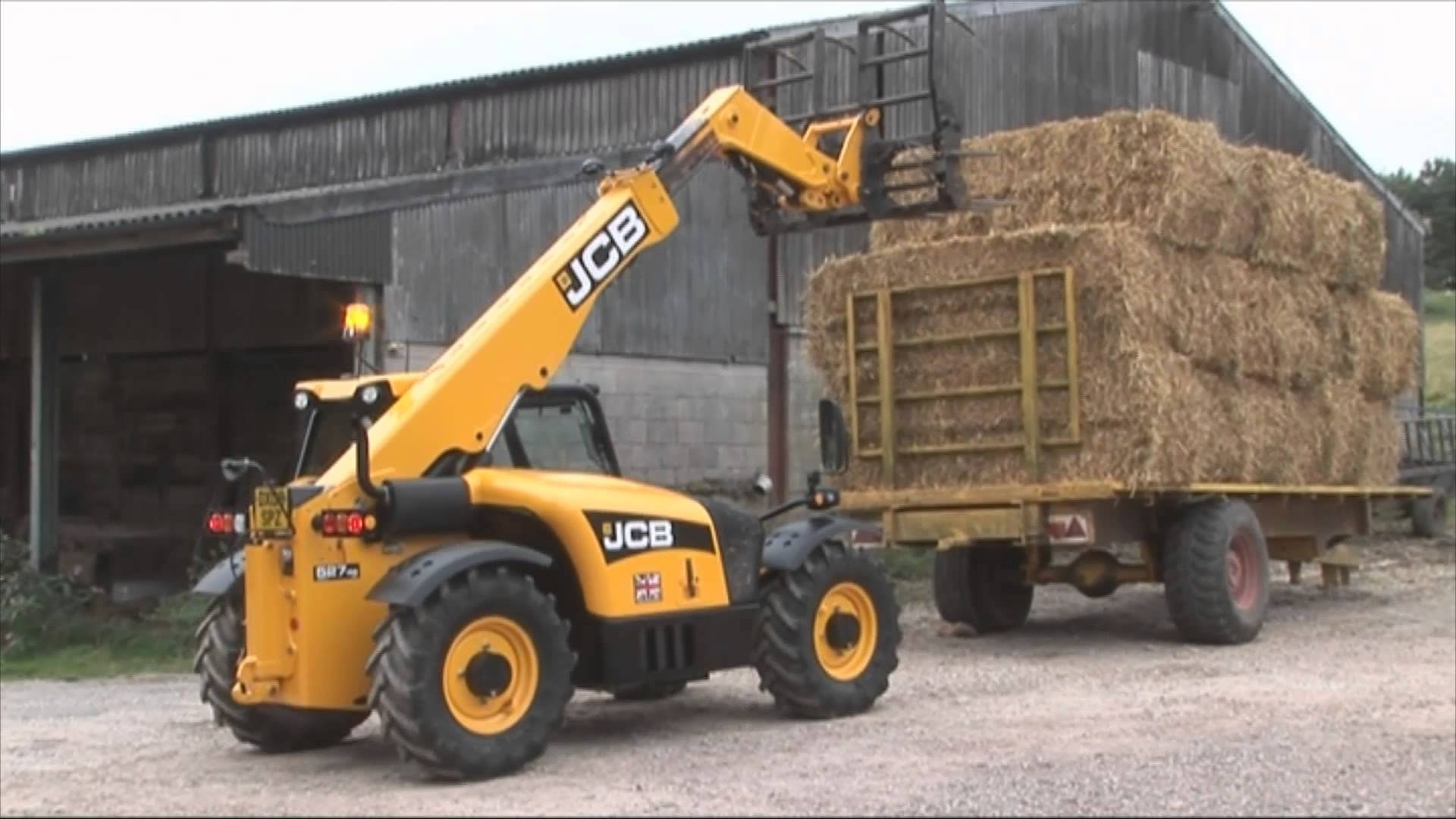 JCB Agricultural Telescopic Handlers - YouTube