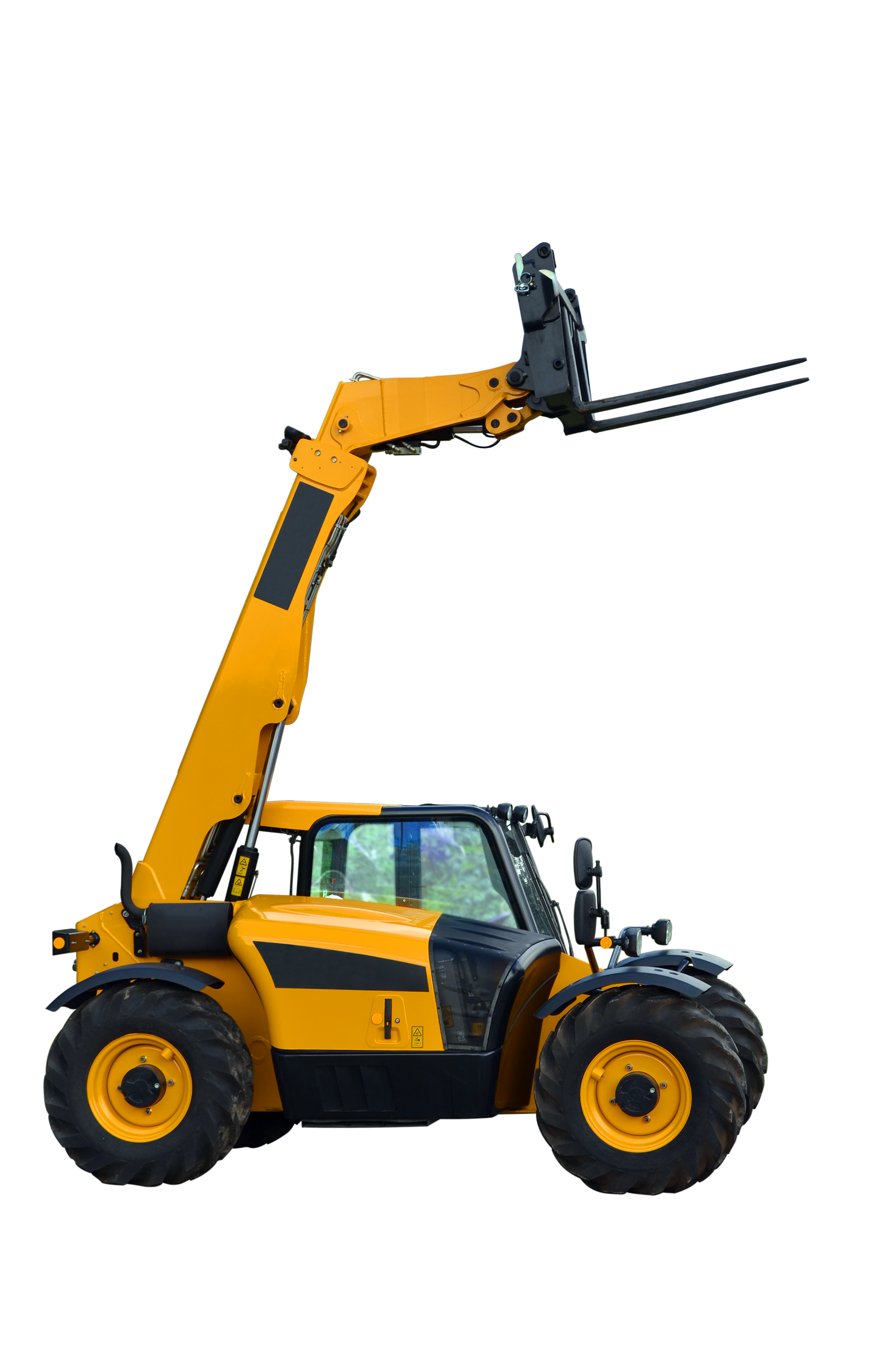 Telescopic handler, Agricultural, Machinery, Working, Work, HQ Photo