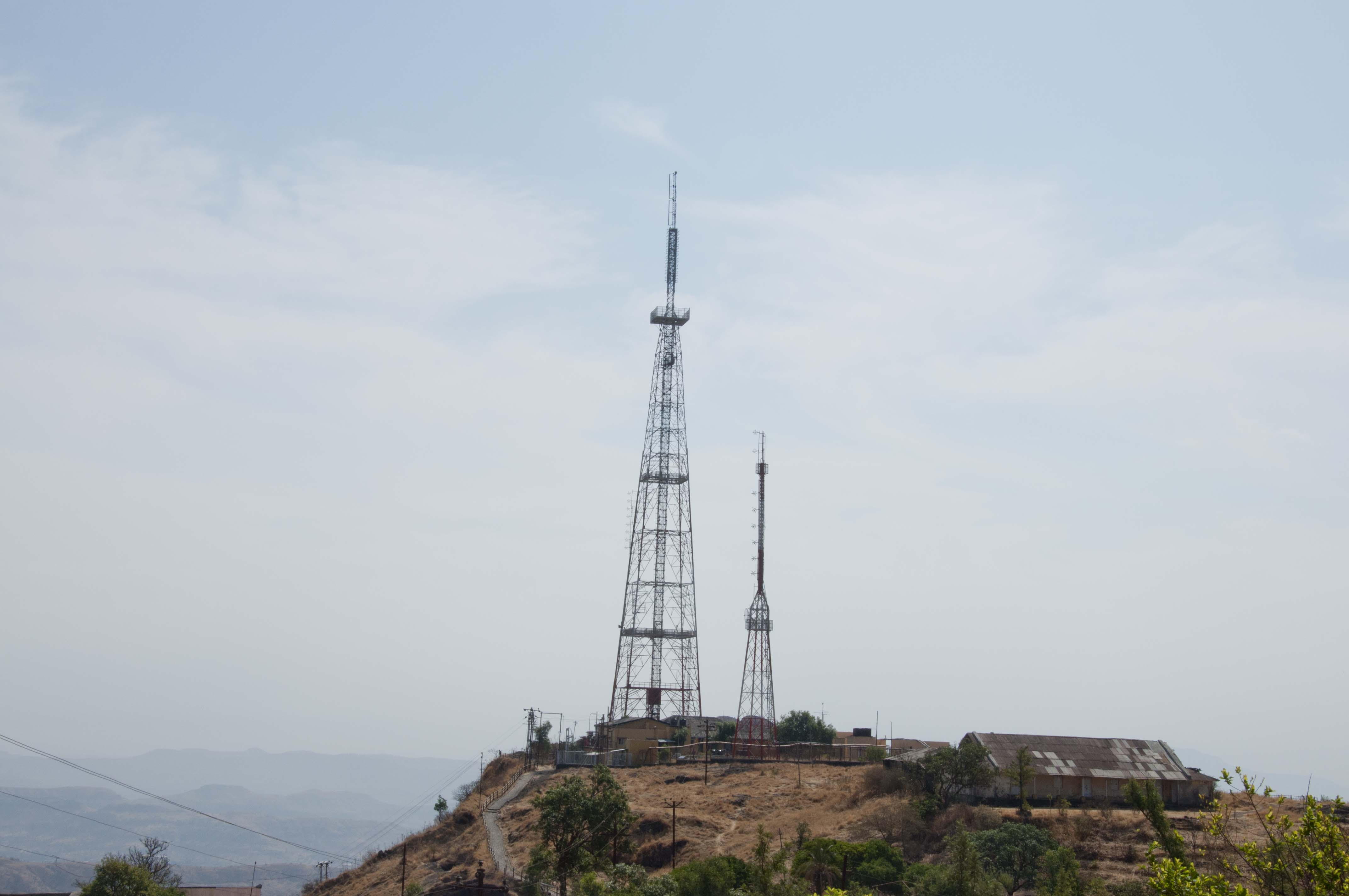 Television tower photo