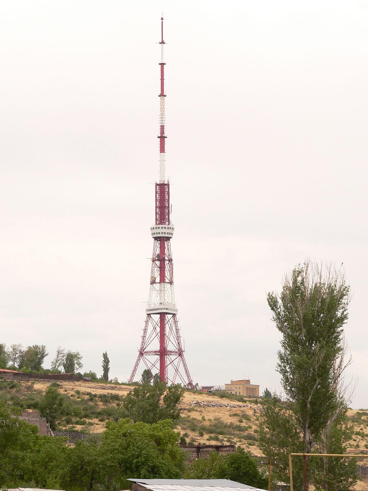 Yerevan TV Tower - Wikipedia