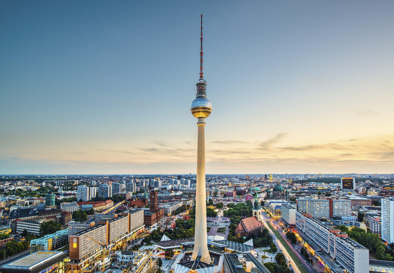 Television Tower Berlin - Berlin Marriott Hotel