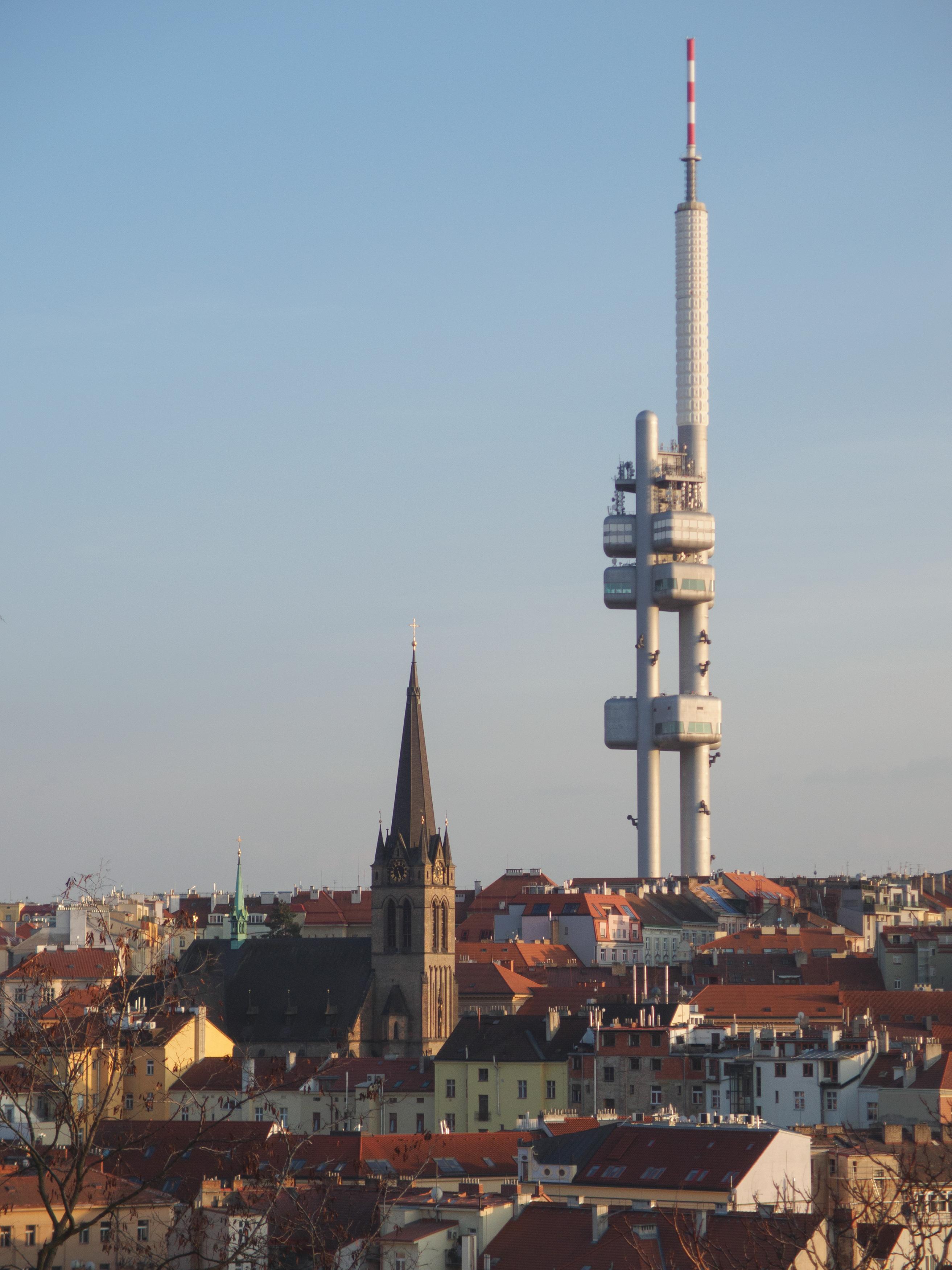 Free Image: Prague TV Tower | Libreshot Public Domain Photos