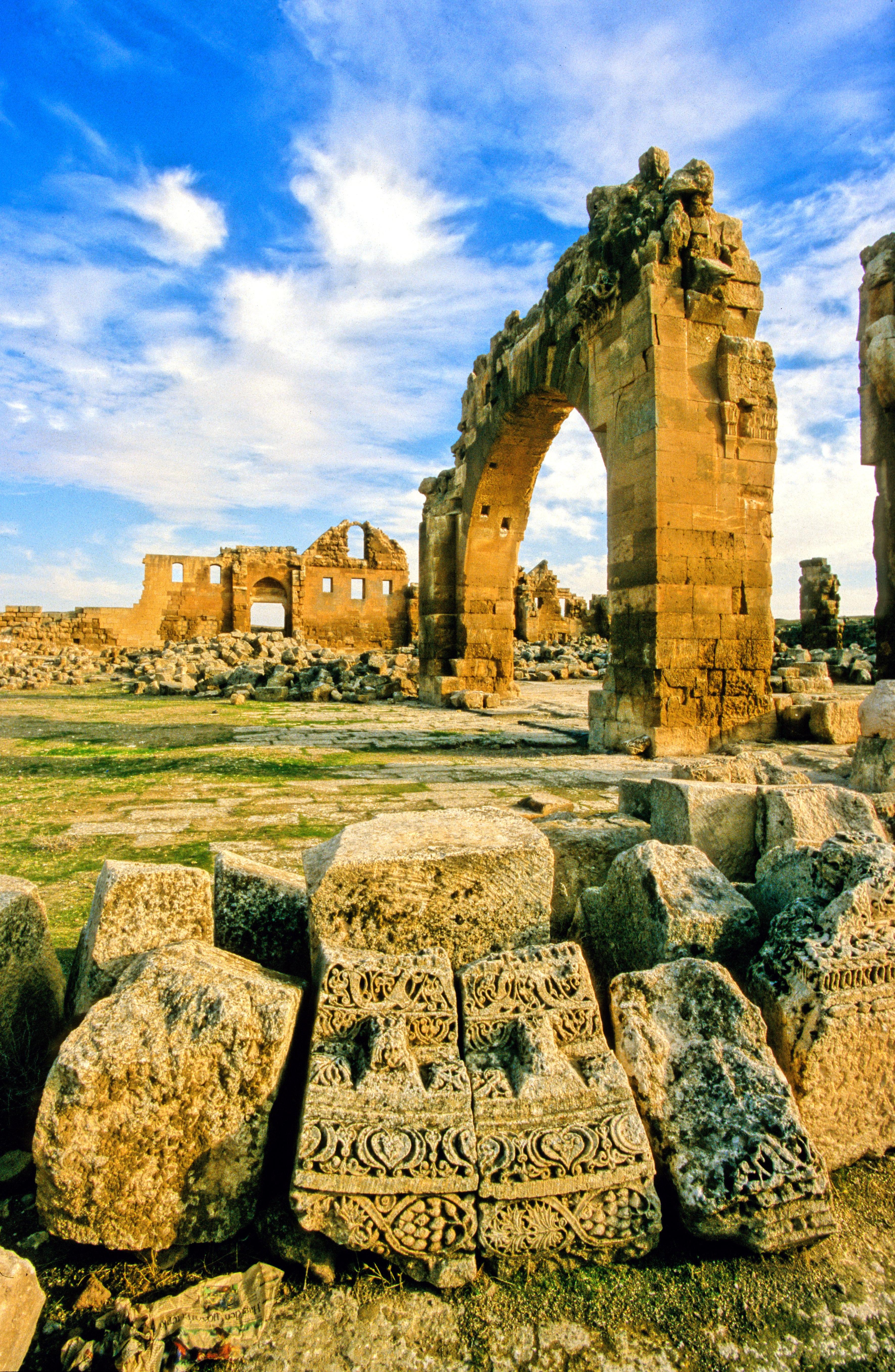 Temple ruins photo