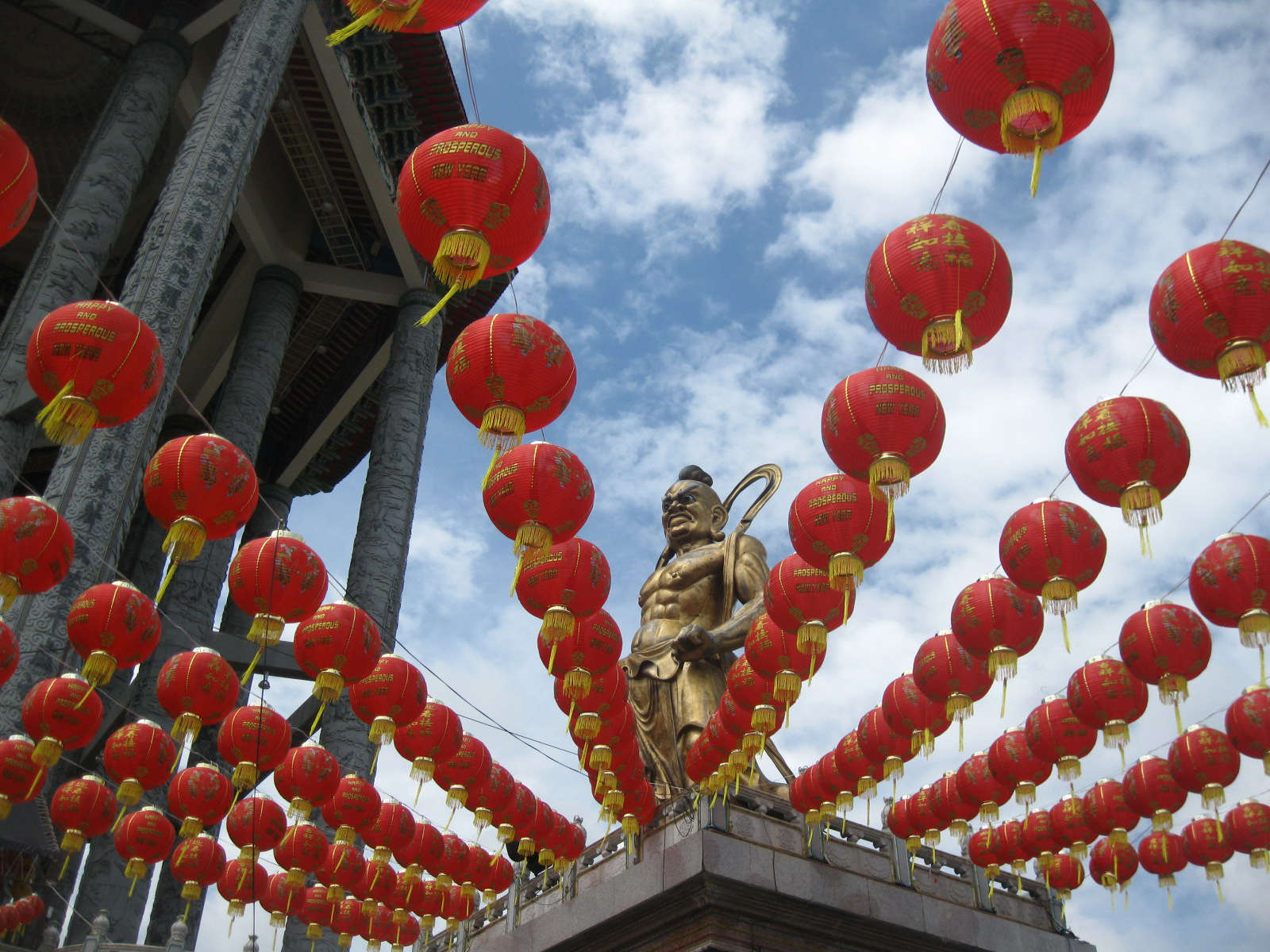 Temple Statue, Red, Outdoor, Shrine, Temple, HQ Photo