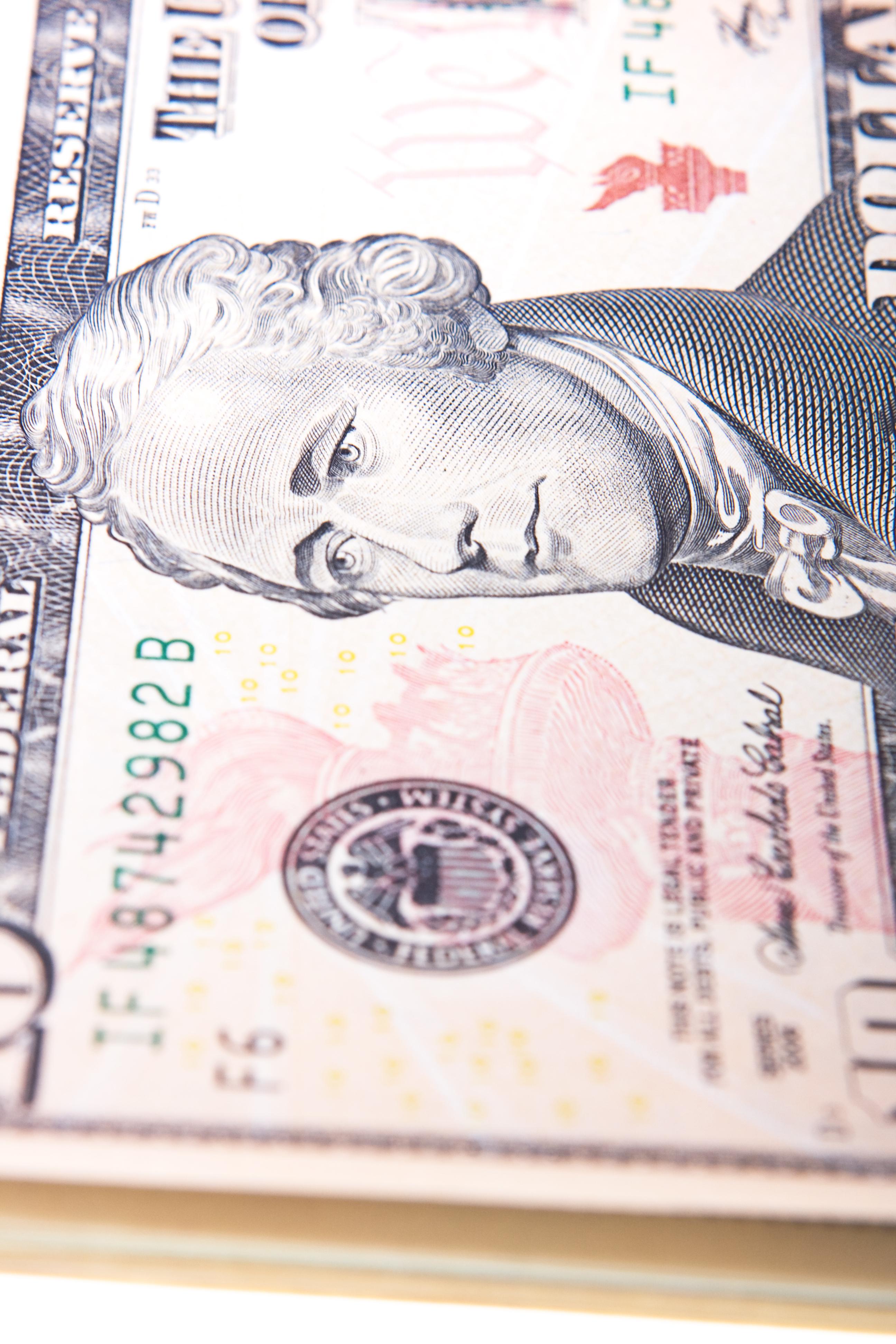 Ten dollar bill photo