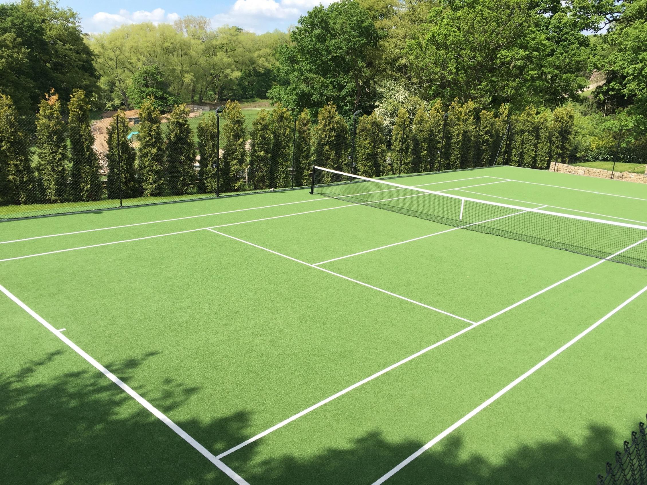 Artificial Grass & Turf For Tennis Courts - TigerTurfUK | TigerTurf UK