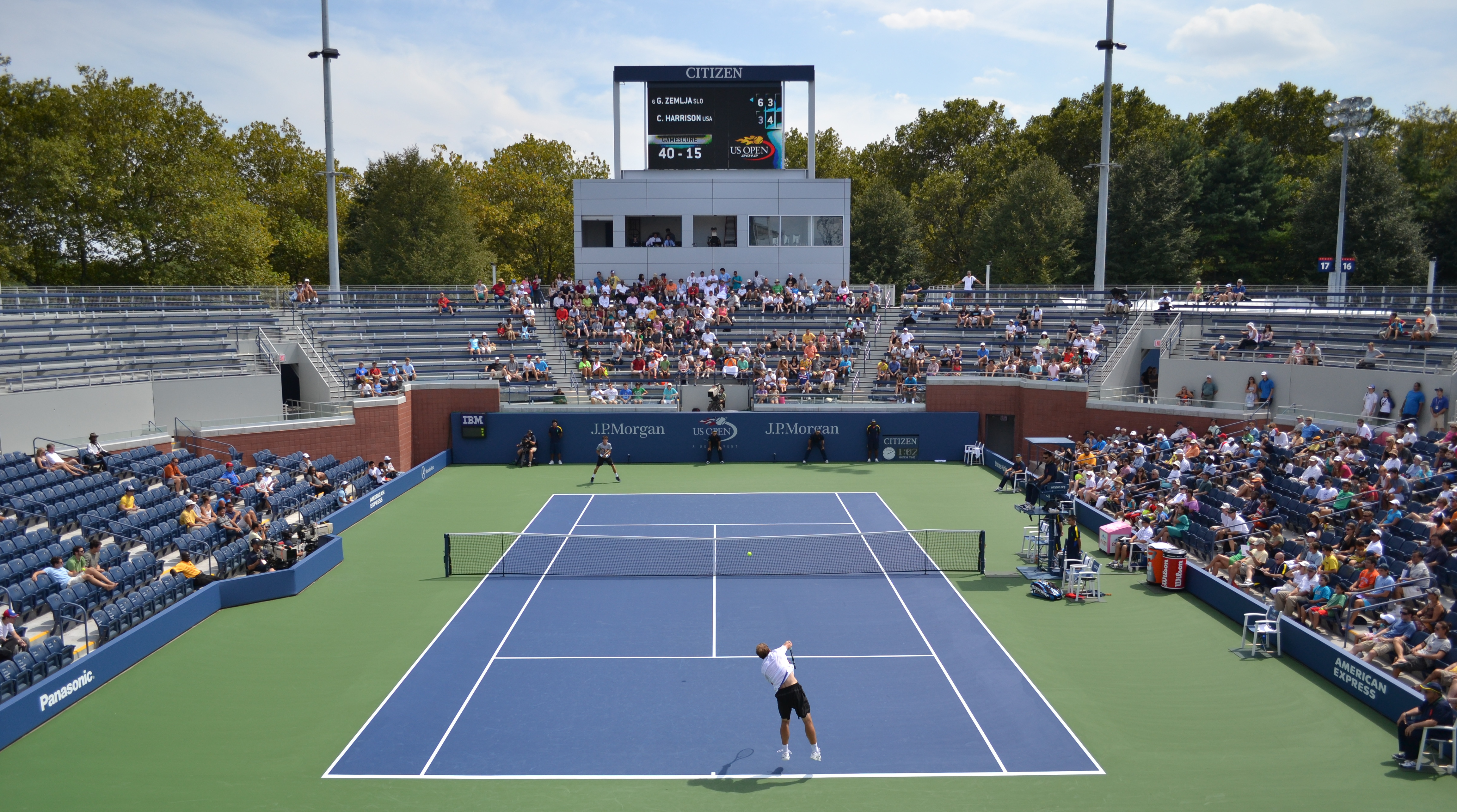 Tennis Match: A Photo Essay – 13/31