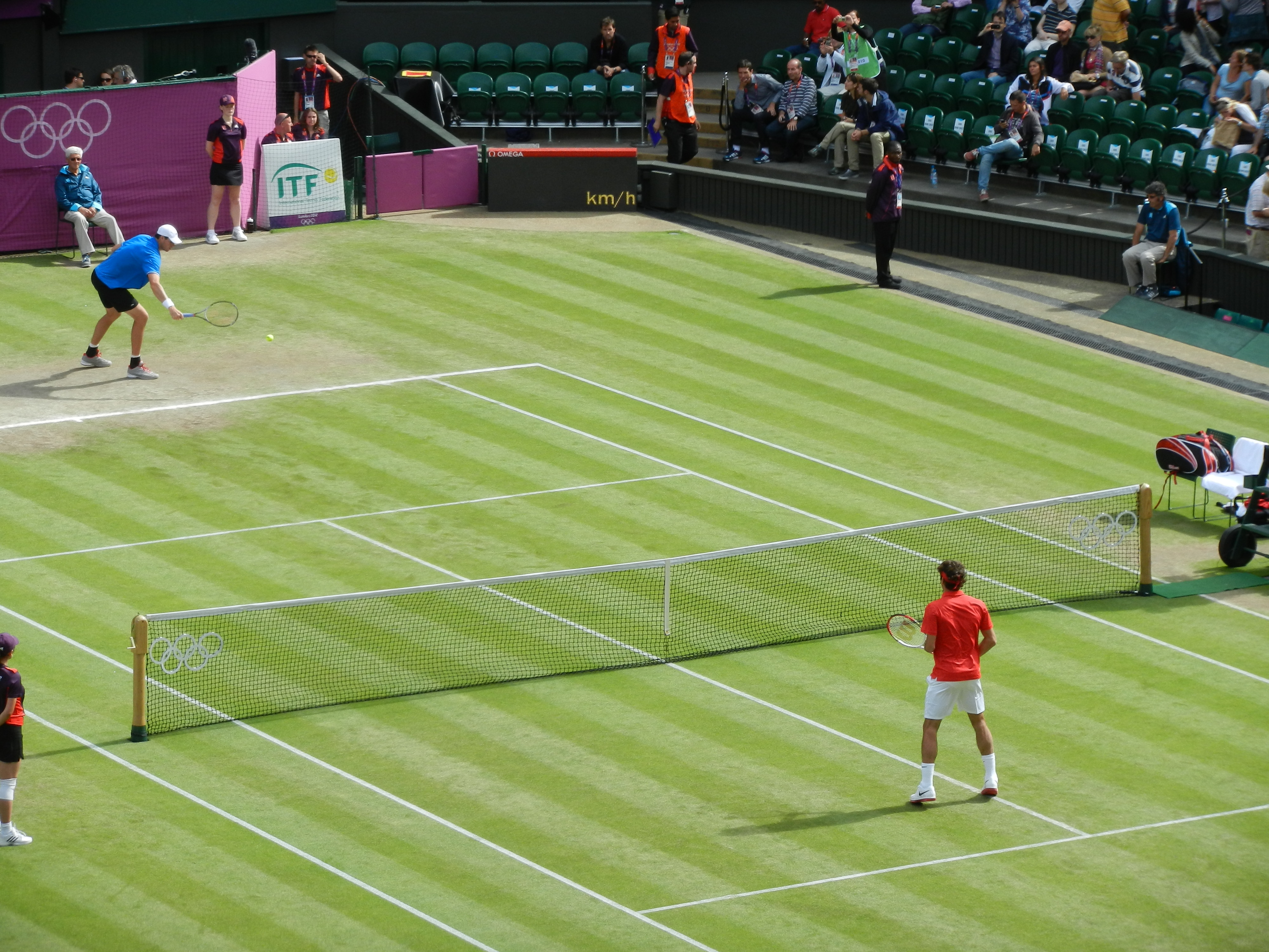 Tennis at the 2012 Summer Olympics – Men's singles - Wikipedia