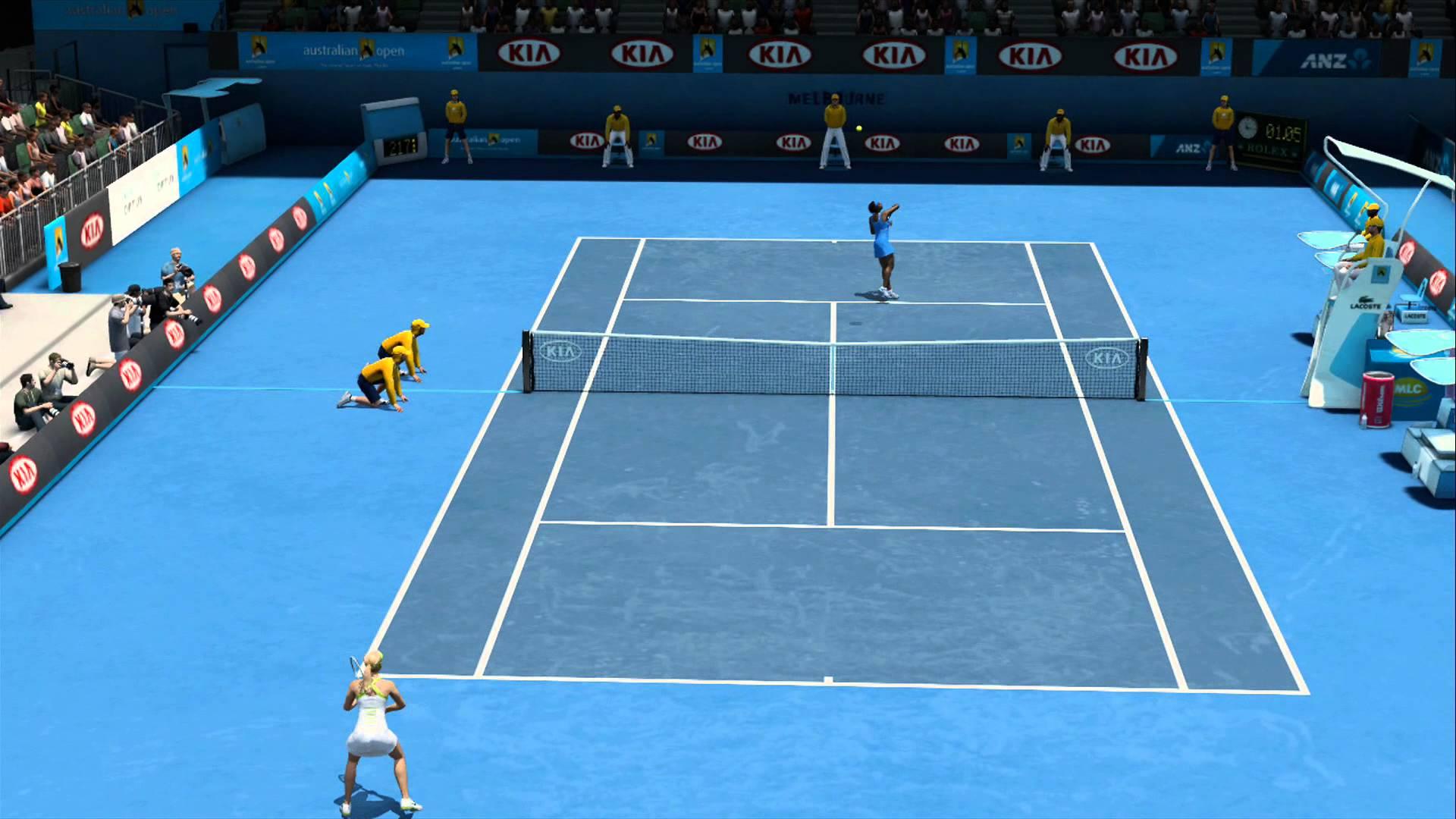 Maria Sharapova Vs Serena Williams Australian Open 2015 Hisense ...