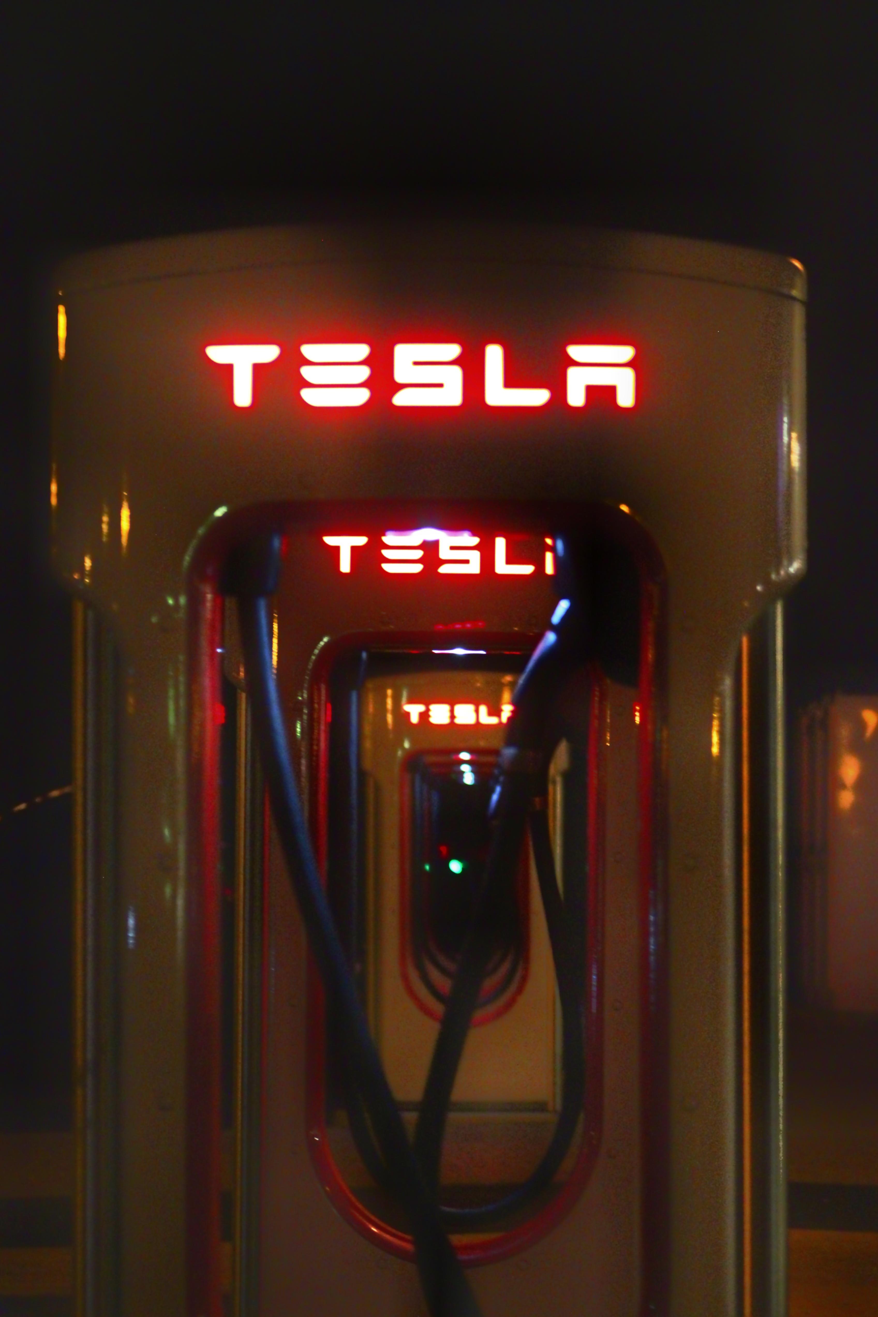 Tesla charging station photo