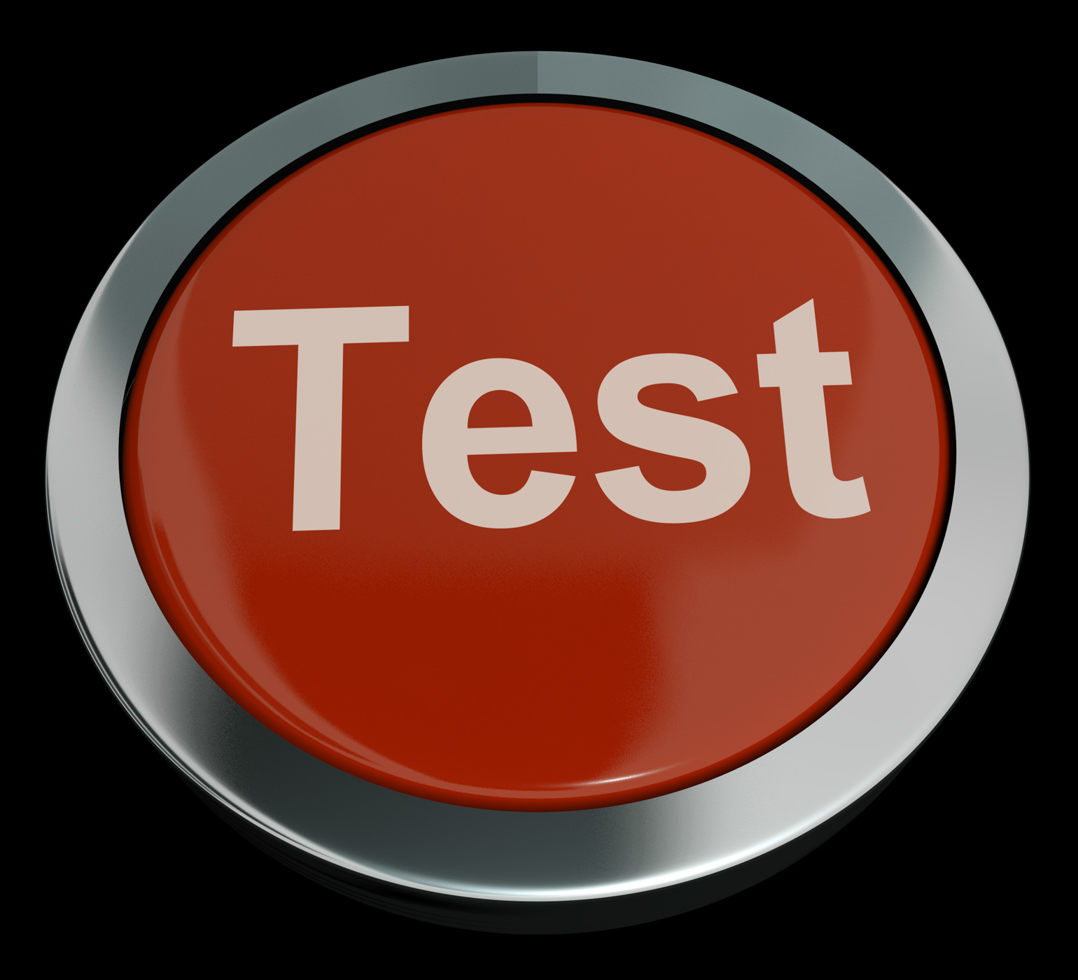 Test Button In Red Showing Quiz Or Online Questionnaire, Application, Button, Challenge, Exam, HQ Photo