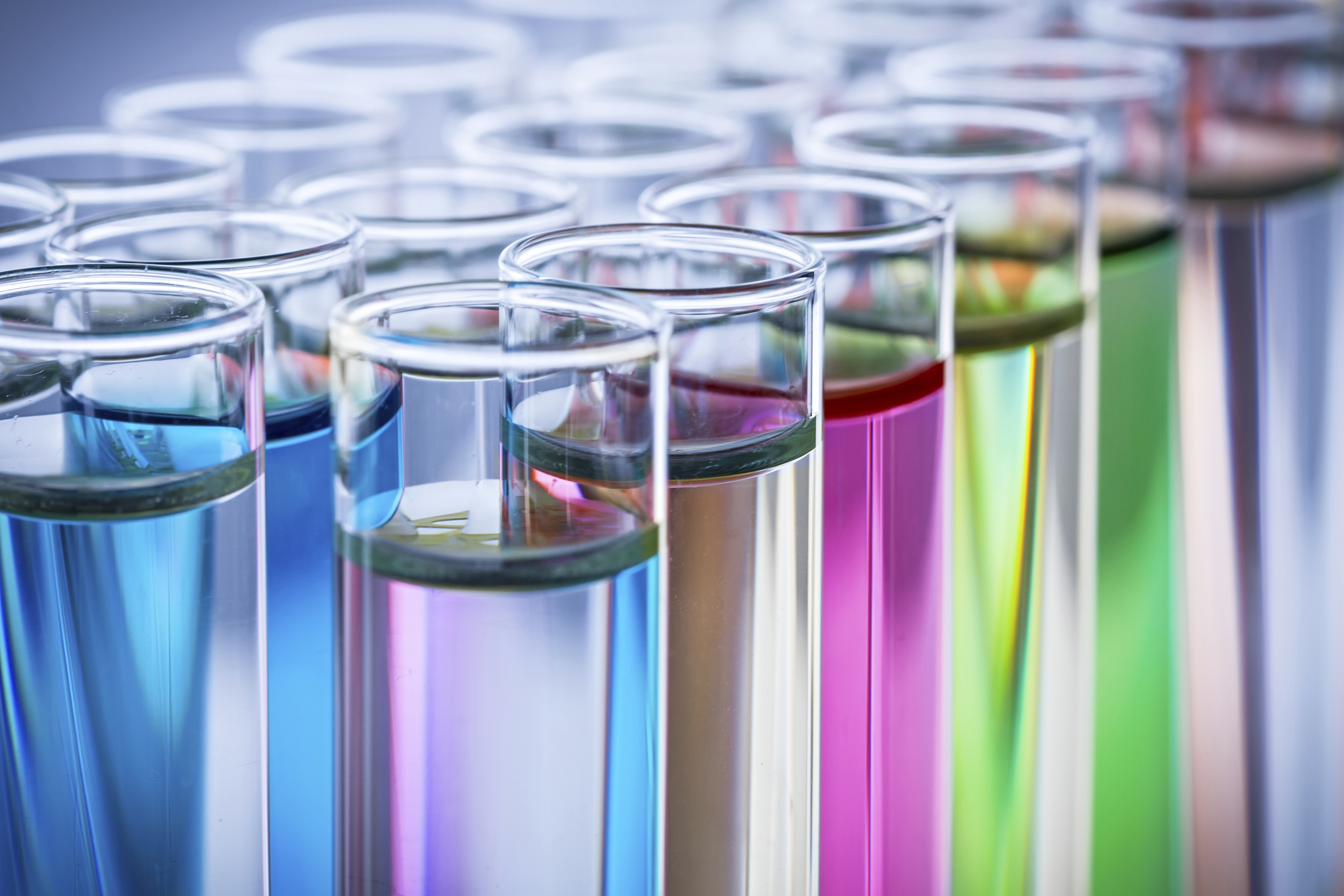 Test tubes photo