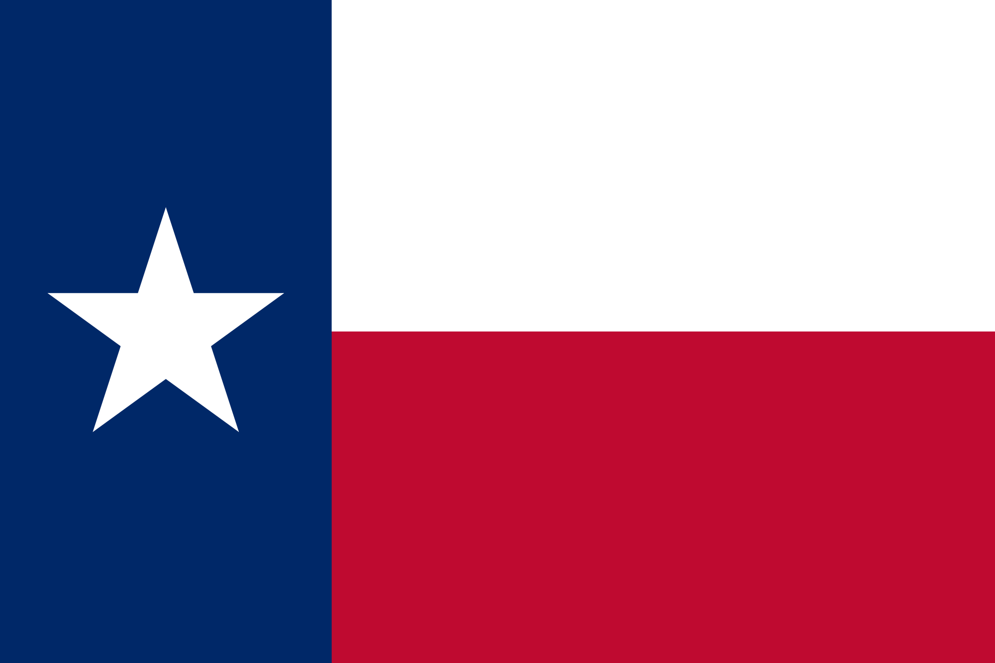 Flag of Texas - Wikipedia