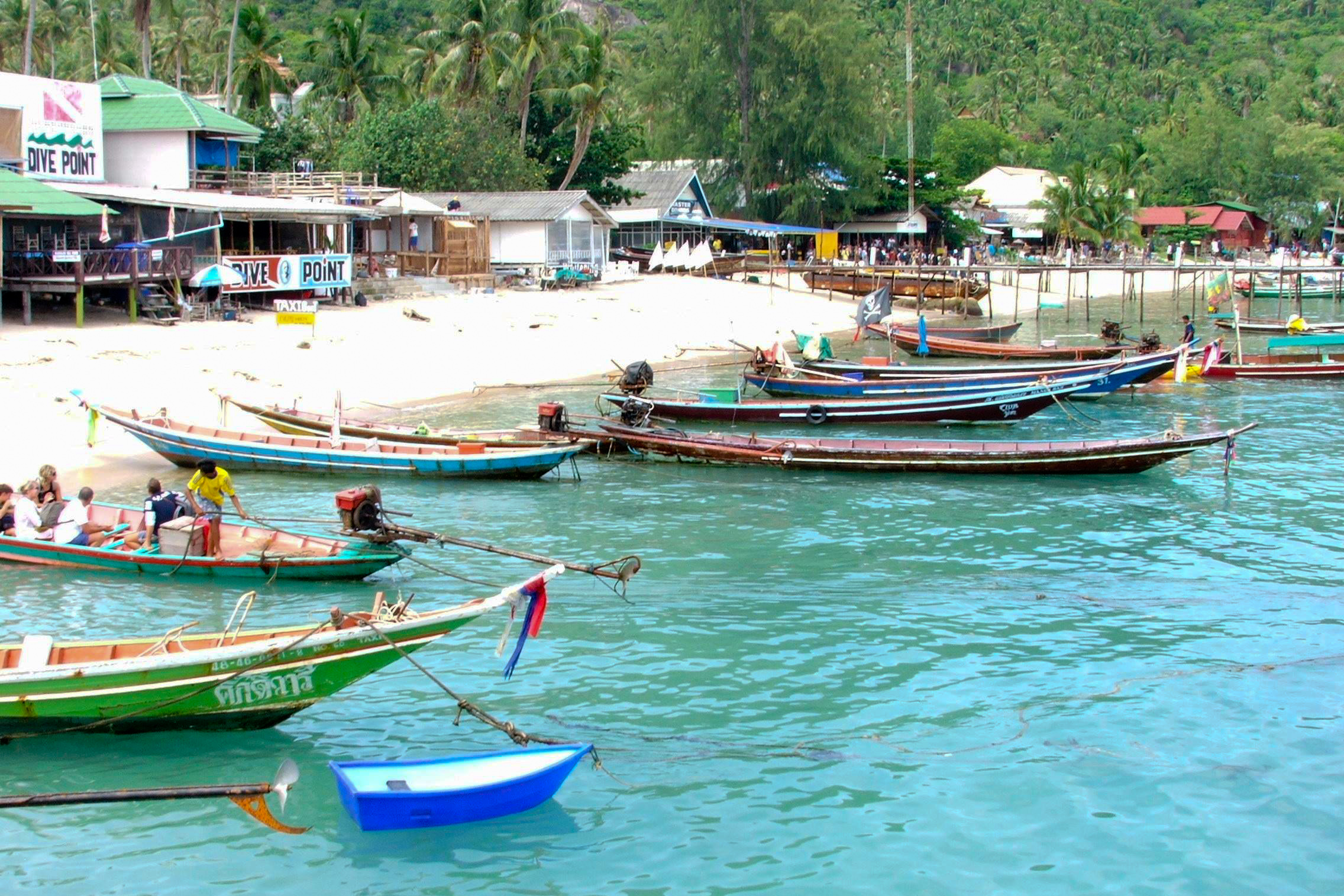 Thai boats photo