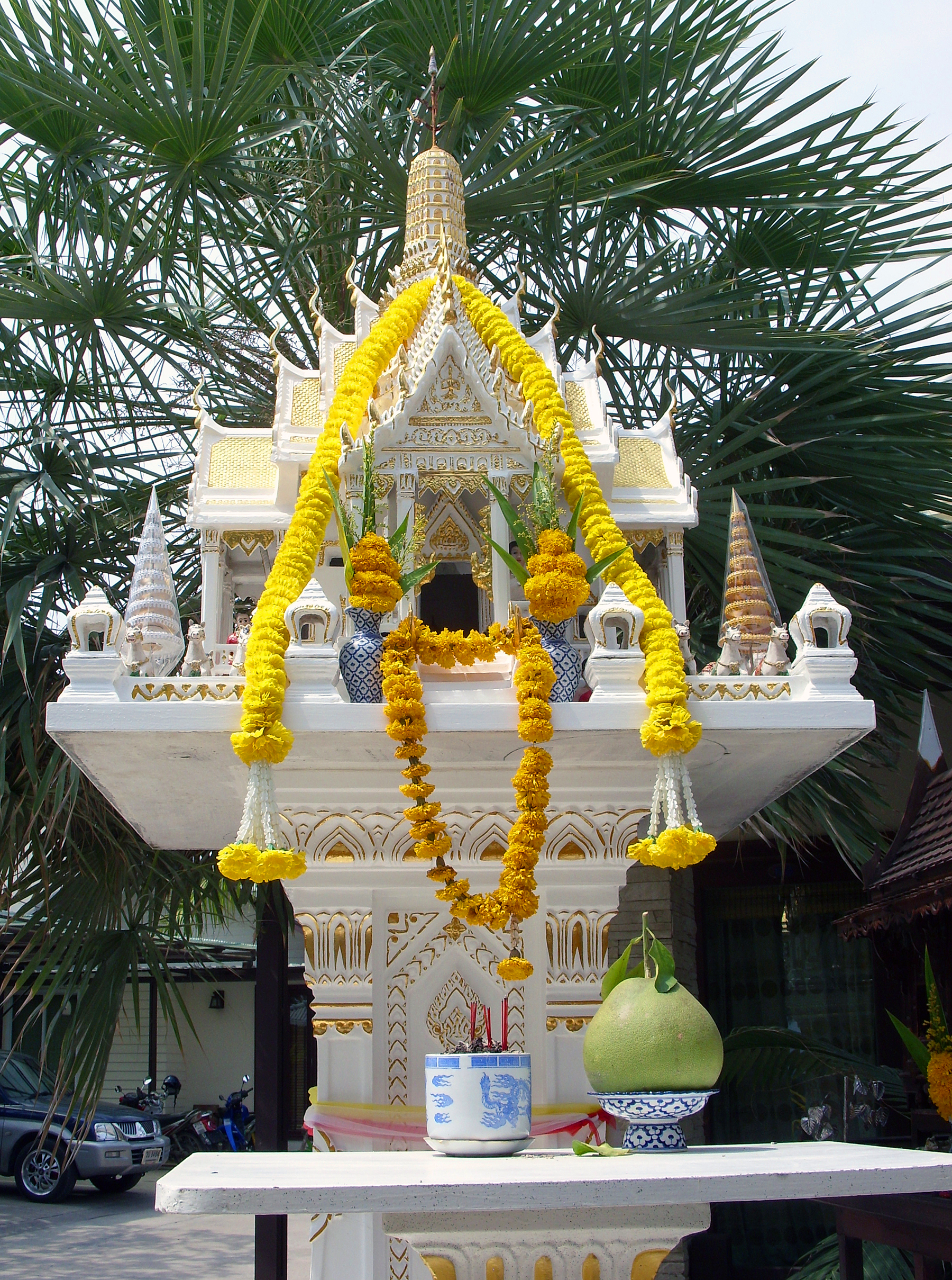 Thai Spirit Houise, Charm, House, Mythical, Offering, HQ Photo
