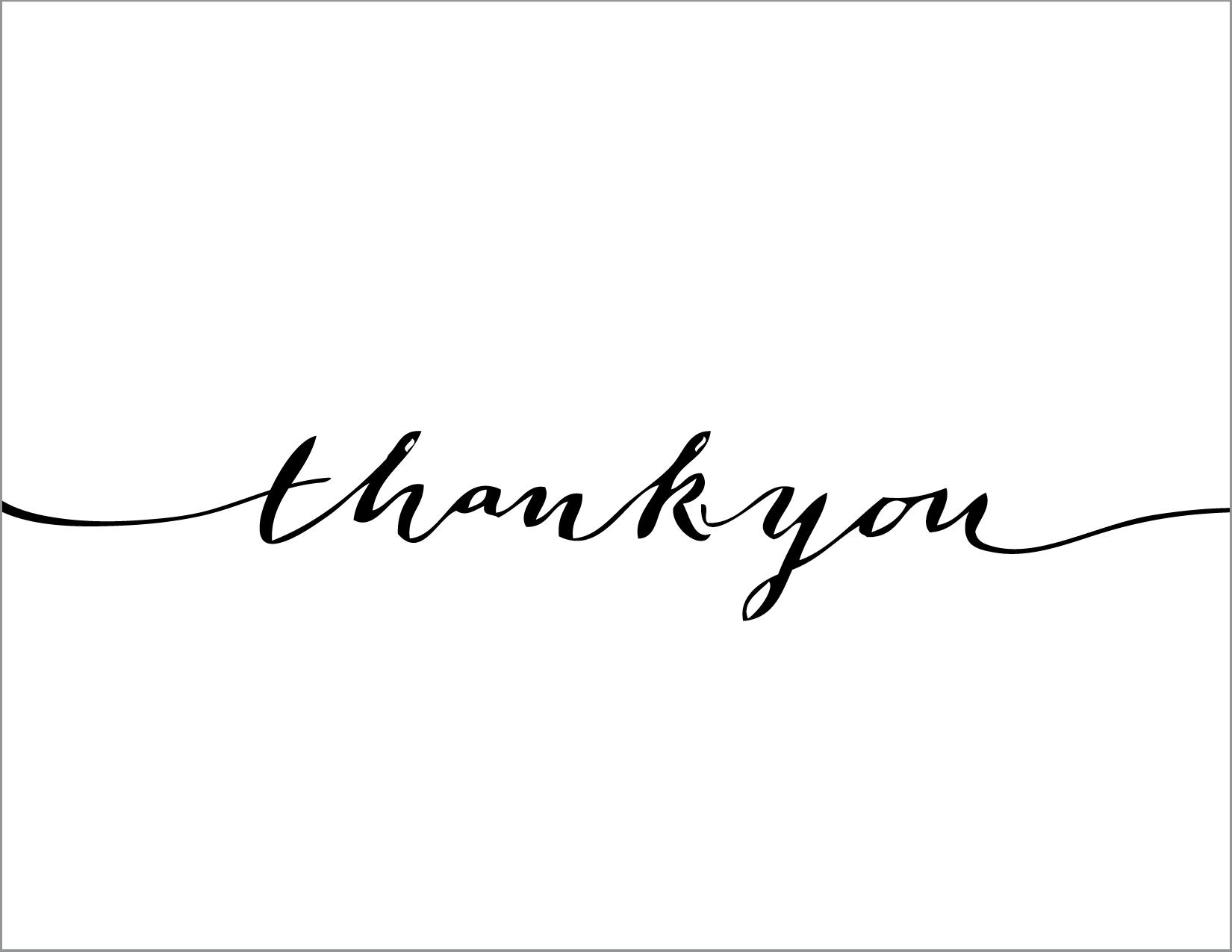 Thank You Script | Designer