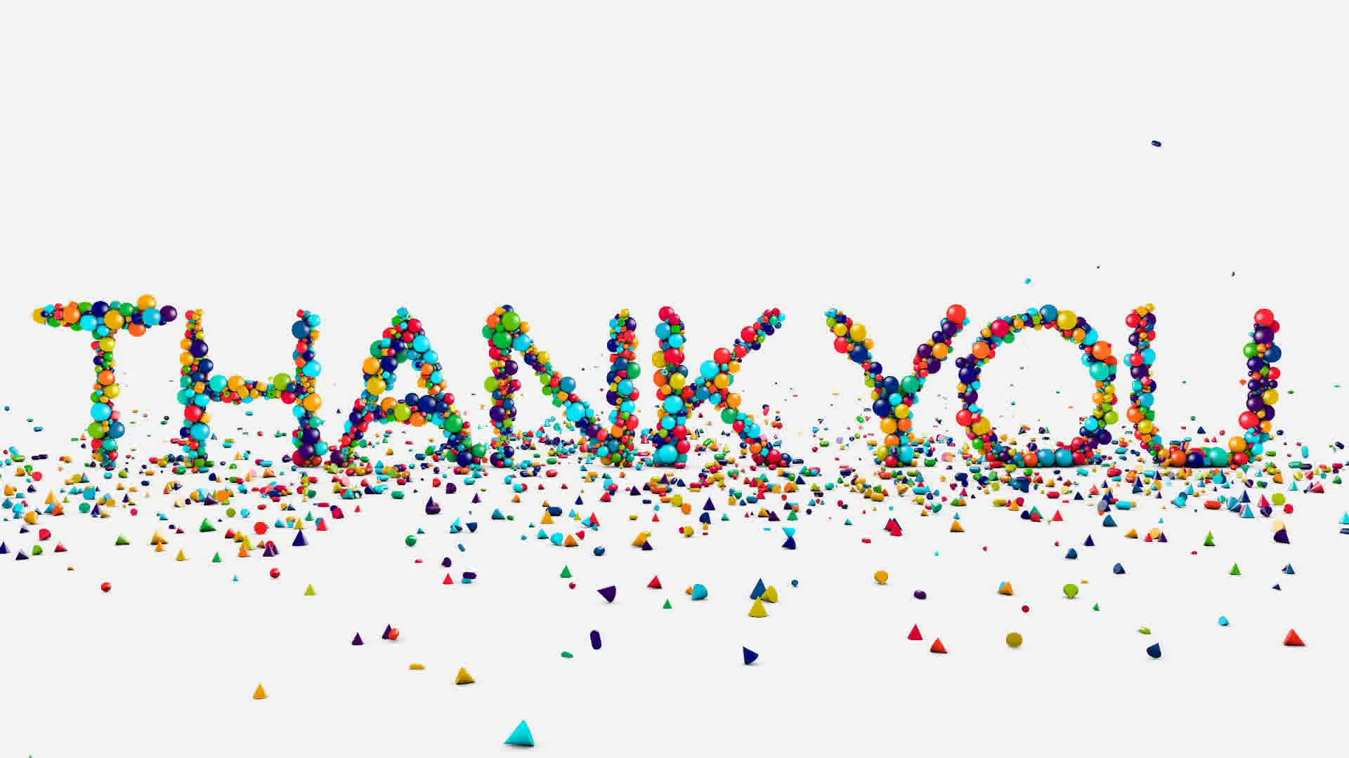 Motion graphics - thank you animation on white Motion Background ...