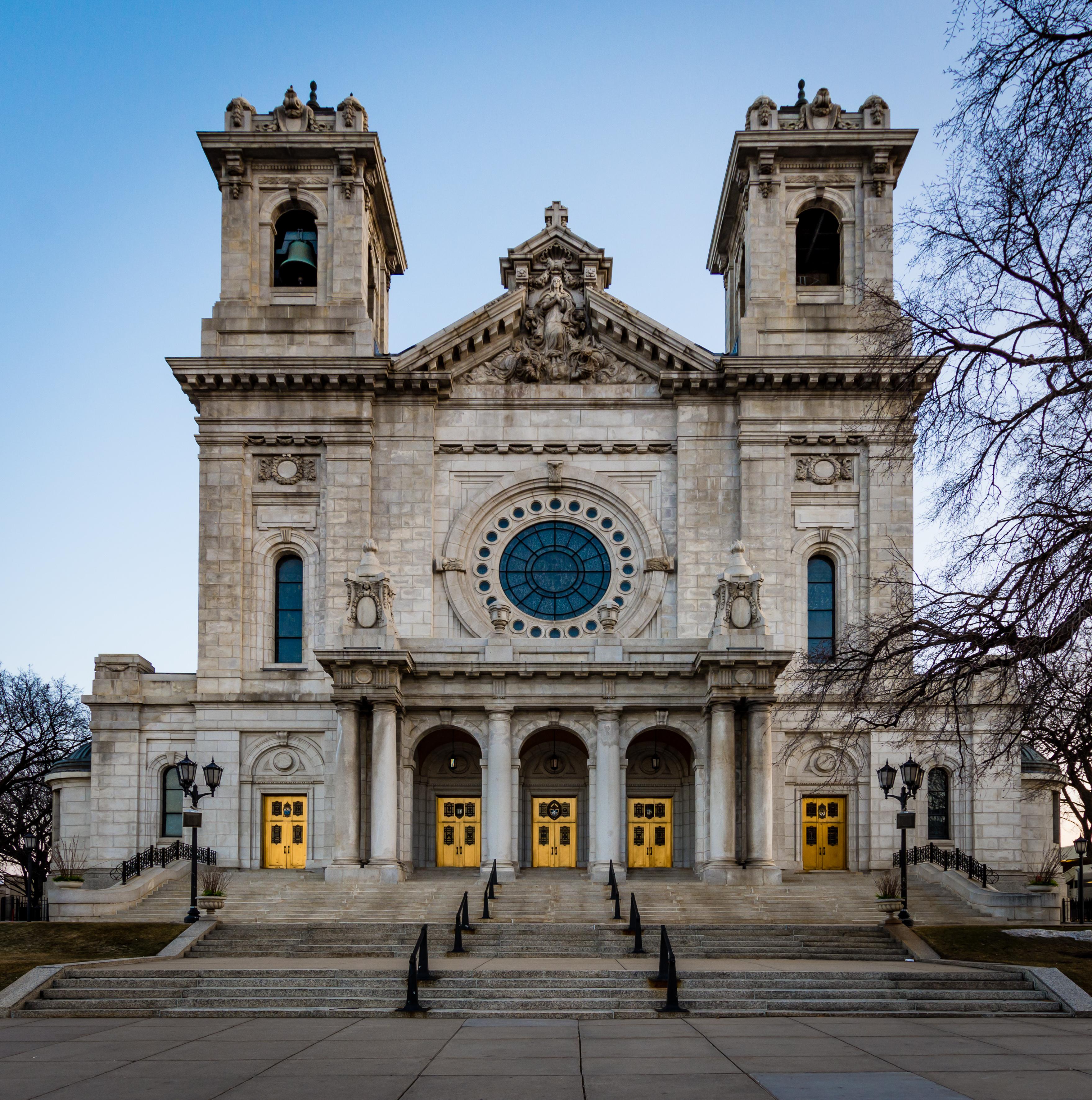 The basilica of saint mary photo