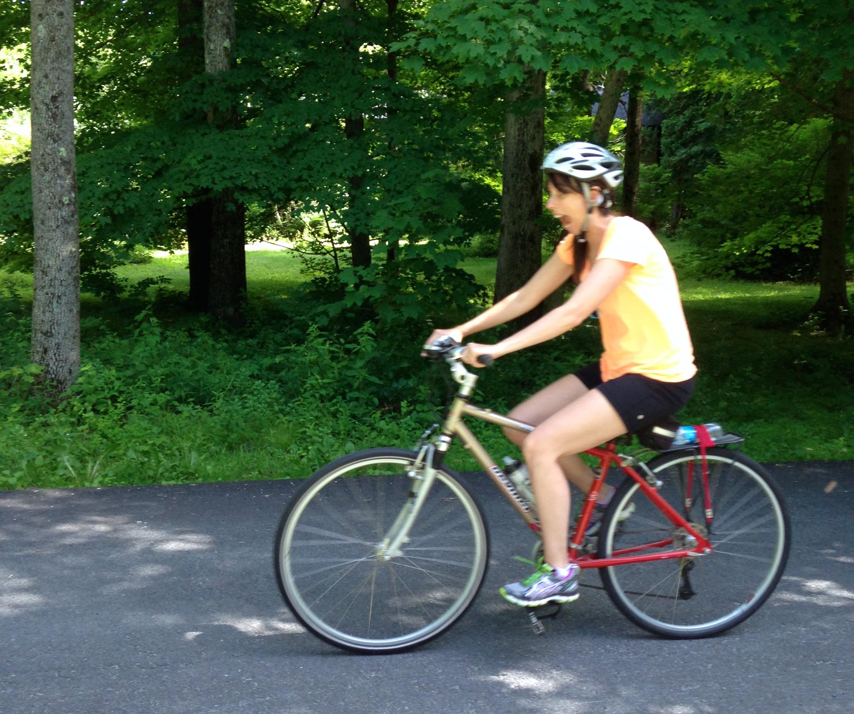 Mission Ride a Bike: Nicole goes to adult biking school - Cuckoolemon