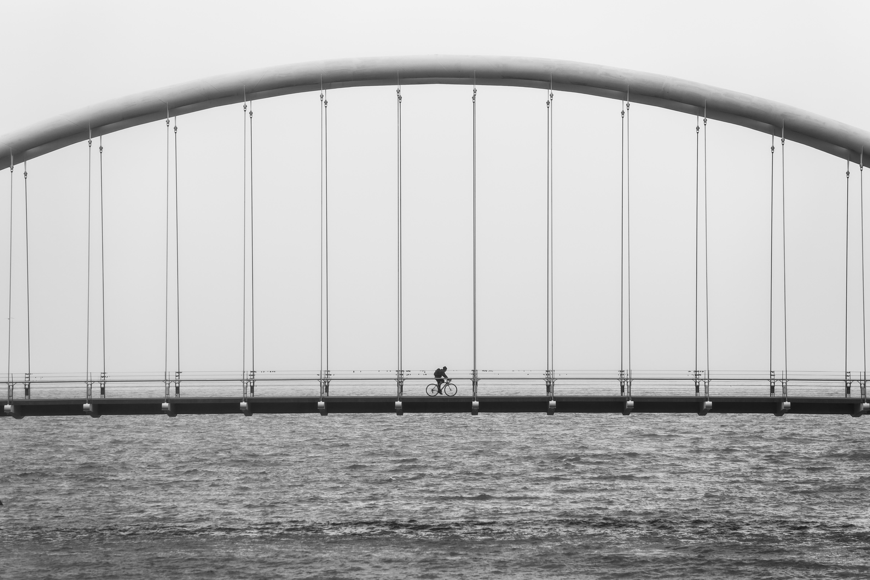 The Bridge, Bridge, Construction, Crossing, Metal, HQ Photo