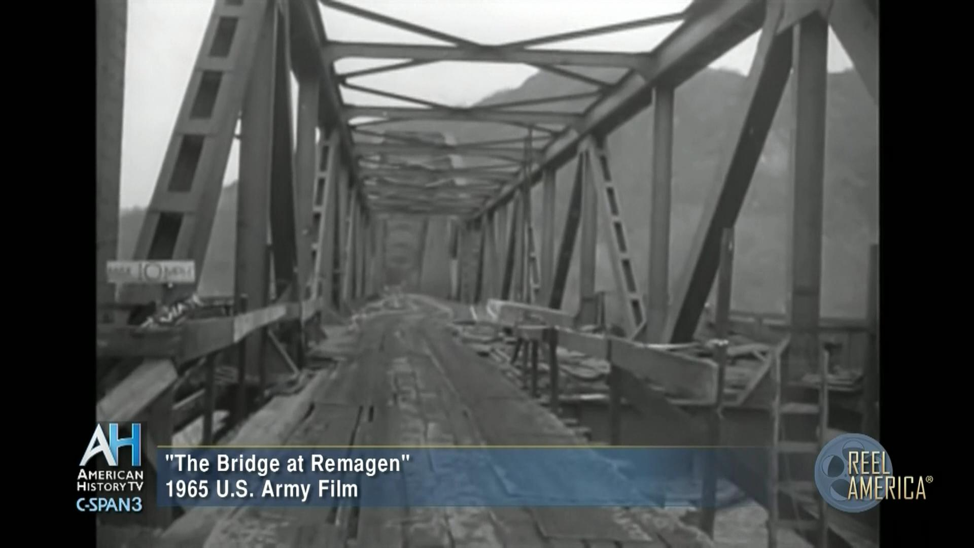 Reel America Bridge Remagen 1945, Jan 31 1965 | Video | C-SPAN.org