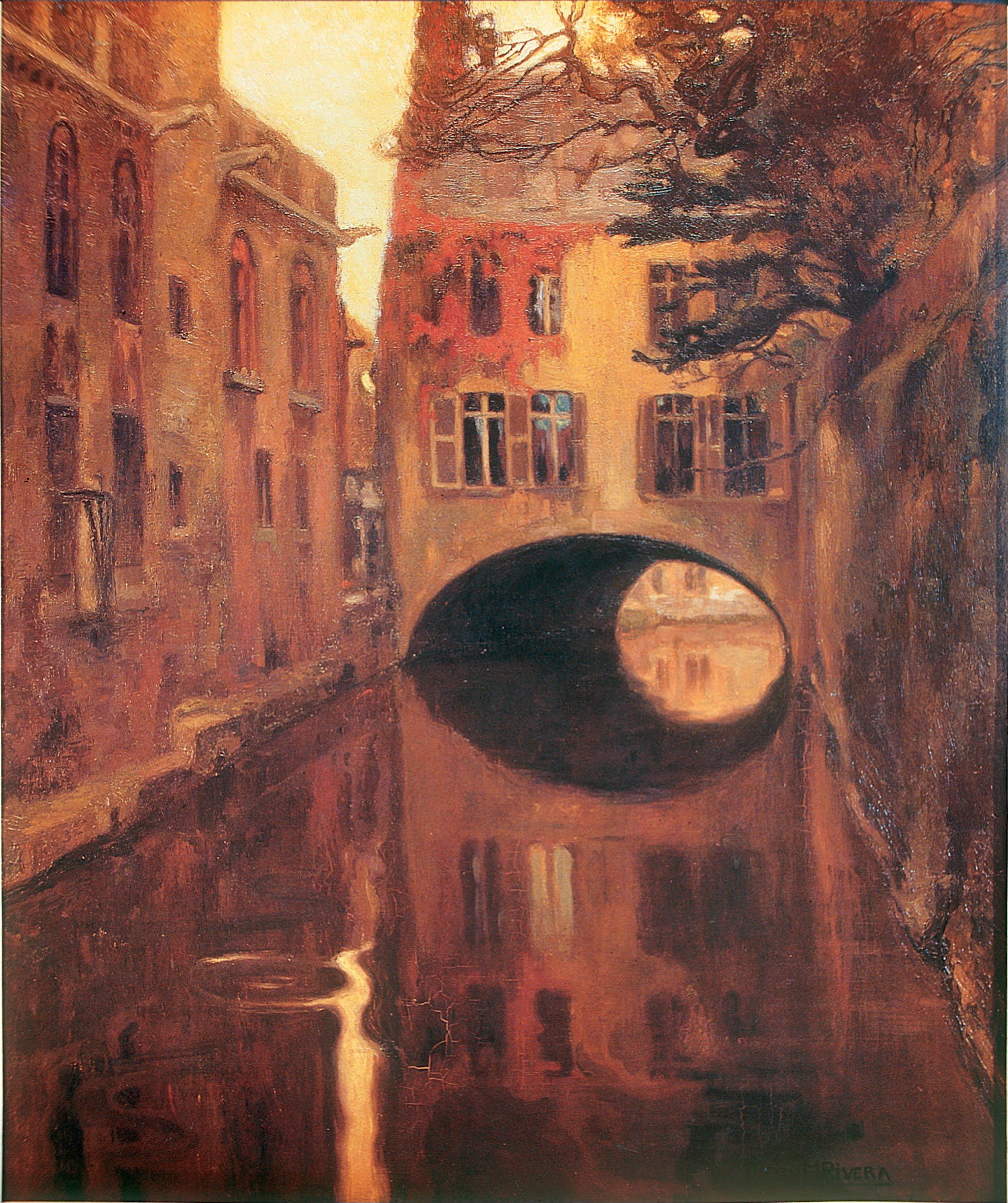 File:Diego Rivera - The House on the Bridge - Google Art Project.jpg ...