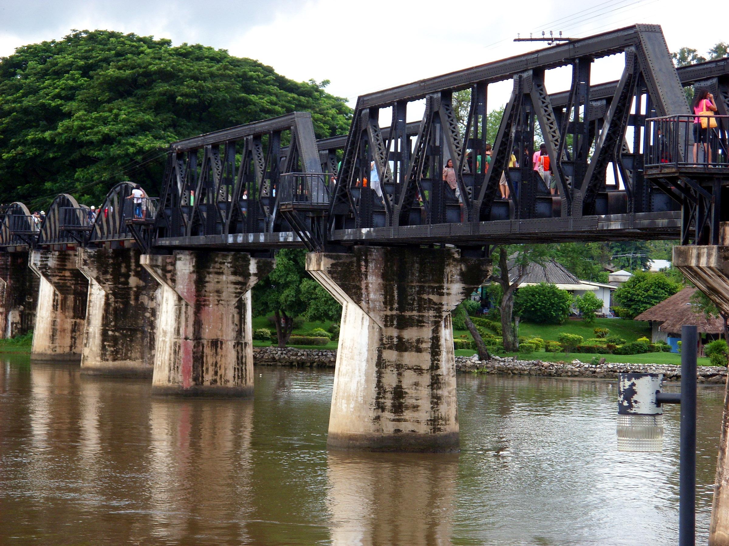 The Bridge on the River Kwai, Bridge, Captive, Cruelty, Japanese, HQ Photo
