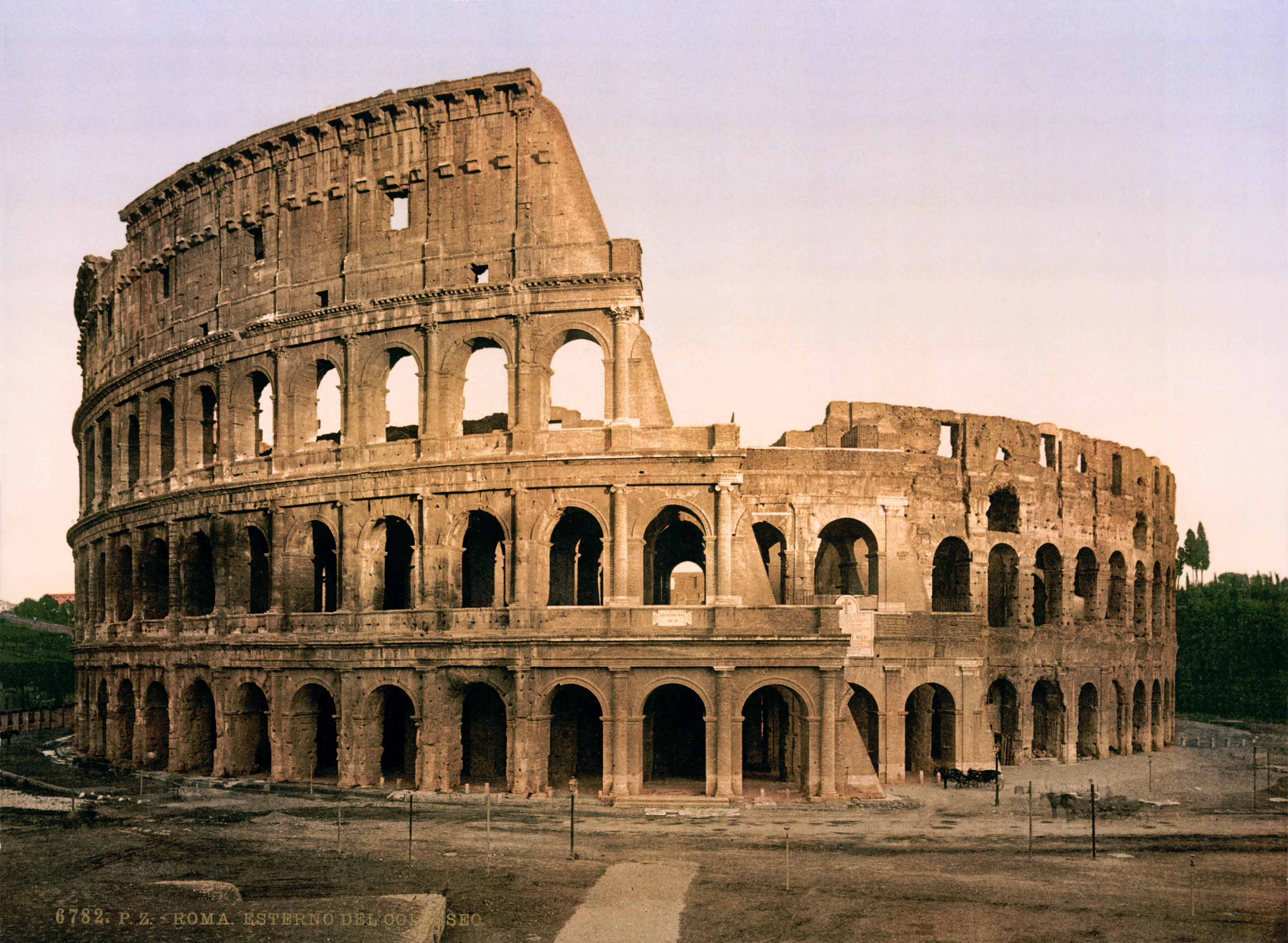 The colosseum, italy photo