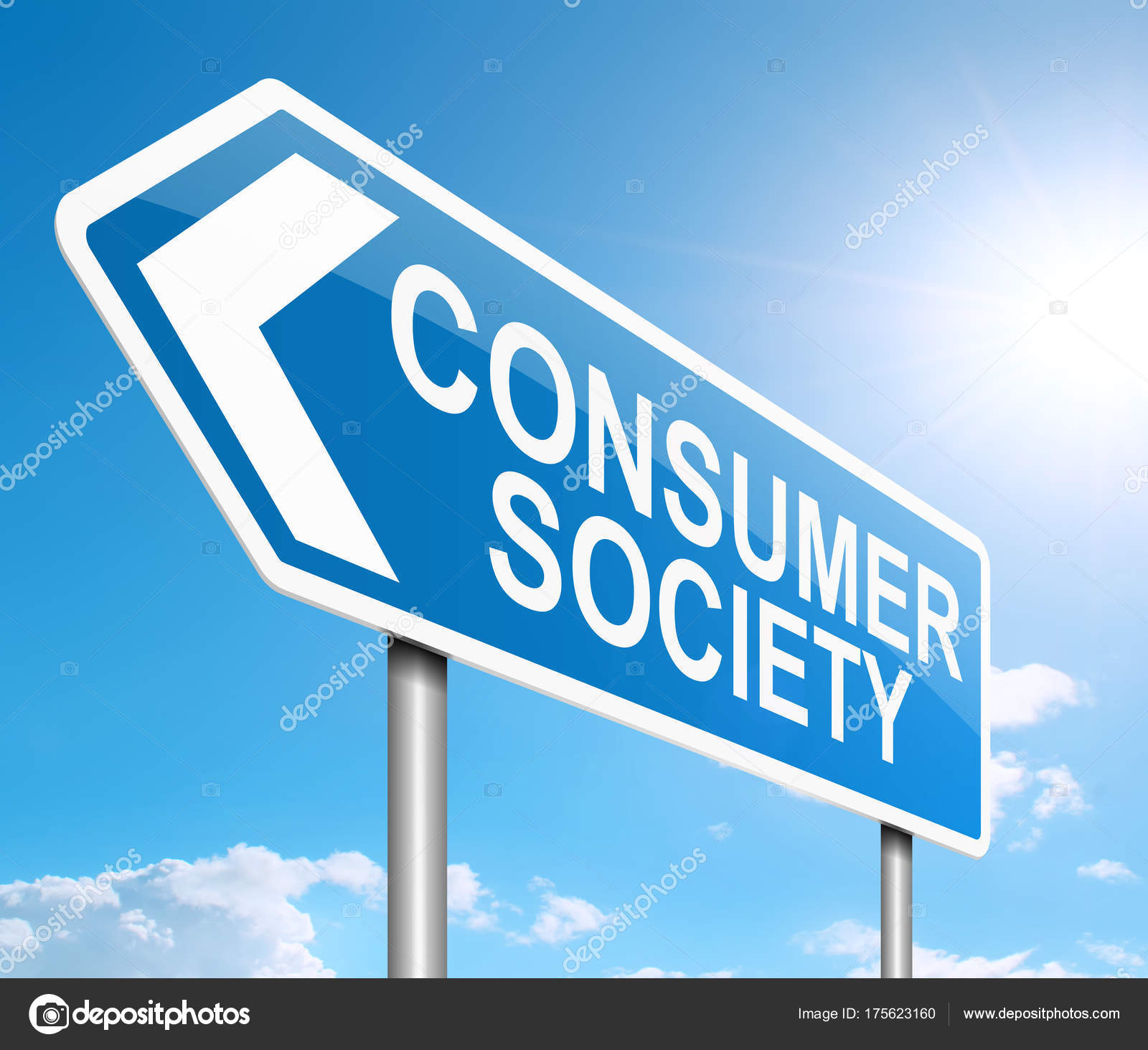 Consumer society concept. — Stock Photo © 72soul #175623160