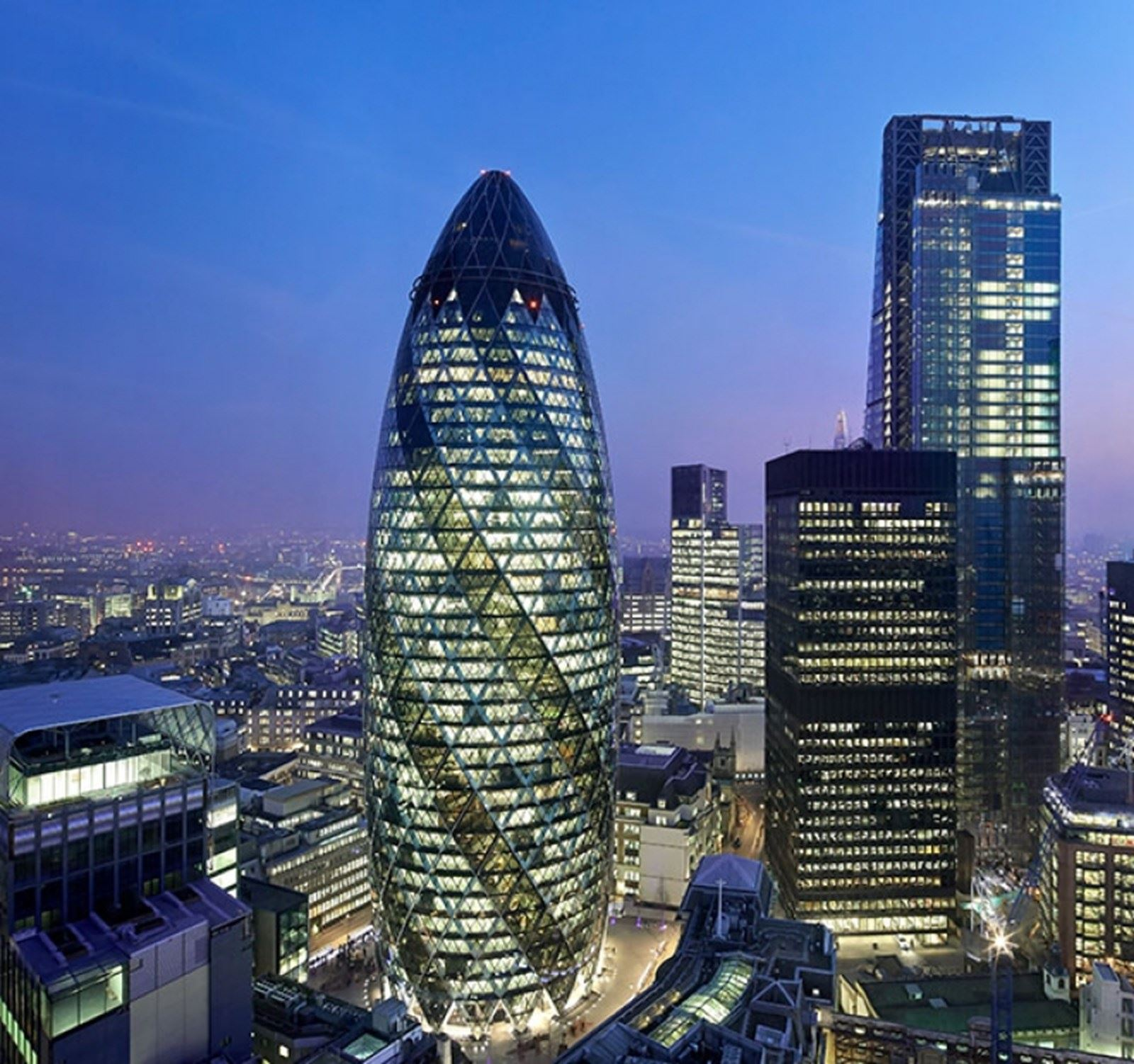 The gherkin photo