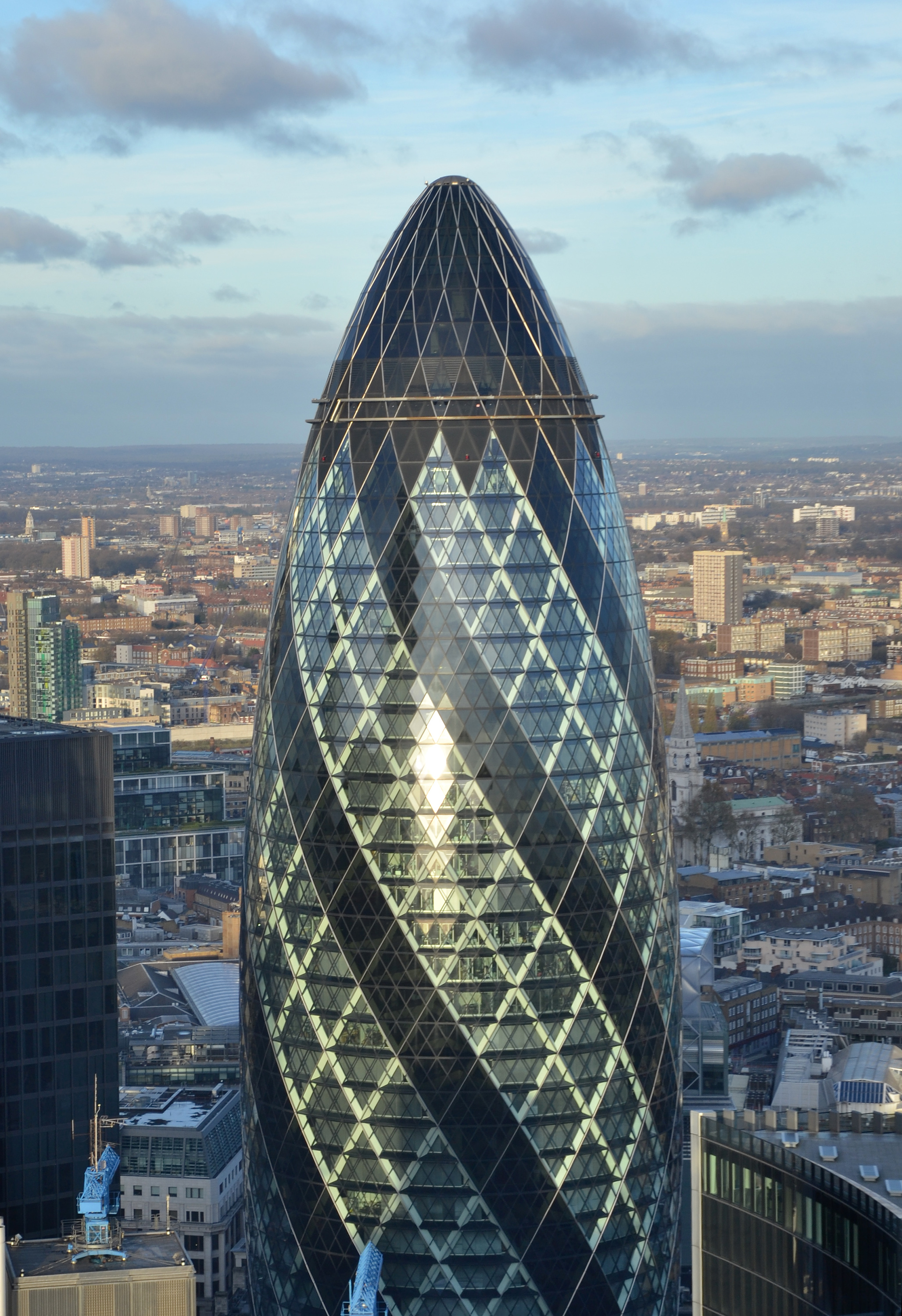 The Gherkin, Apex, London, United, Uk, HQ Photo