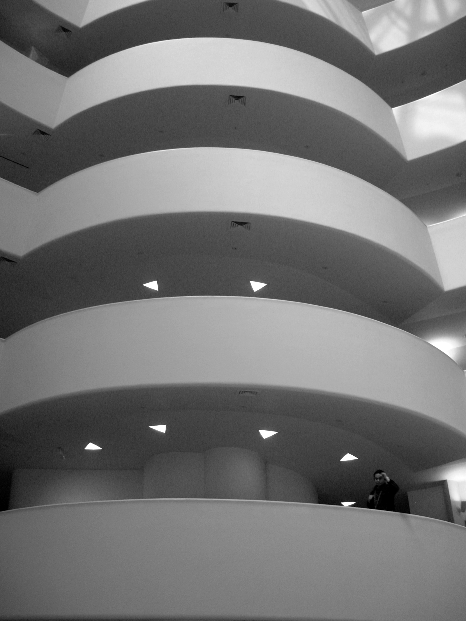 The Guggenheim Experience, Bspo06, Building, B&w, Museum, HQ Photo