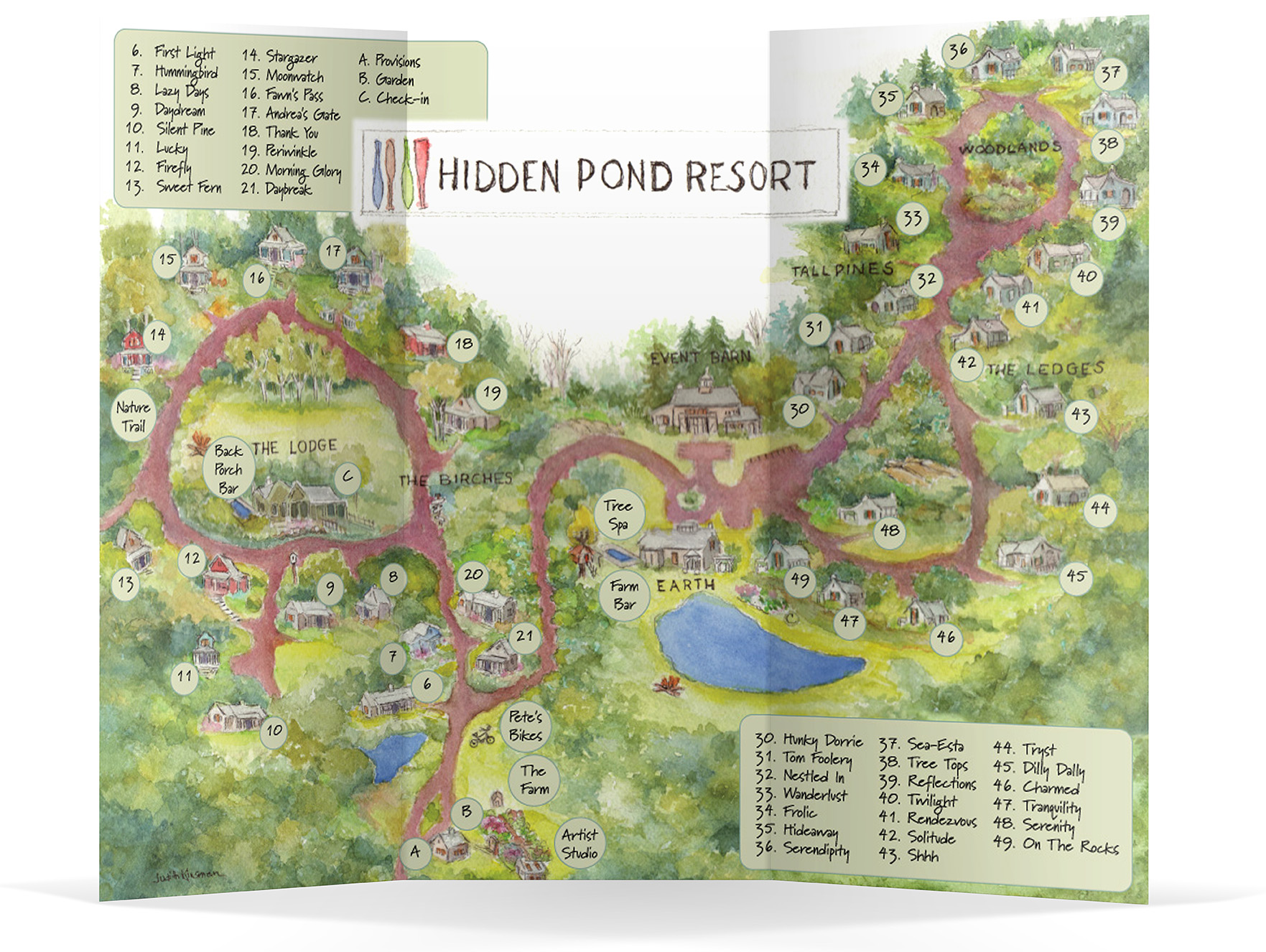 Guest Cottages | Hidden Pond