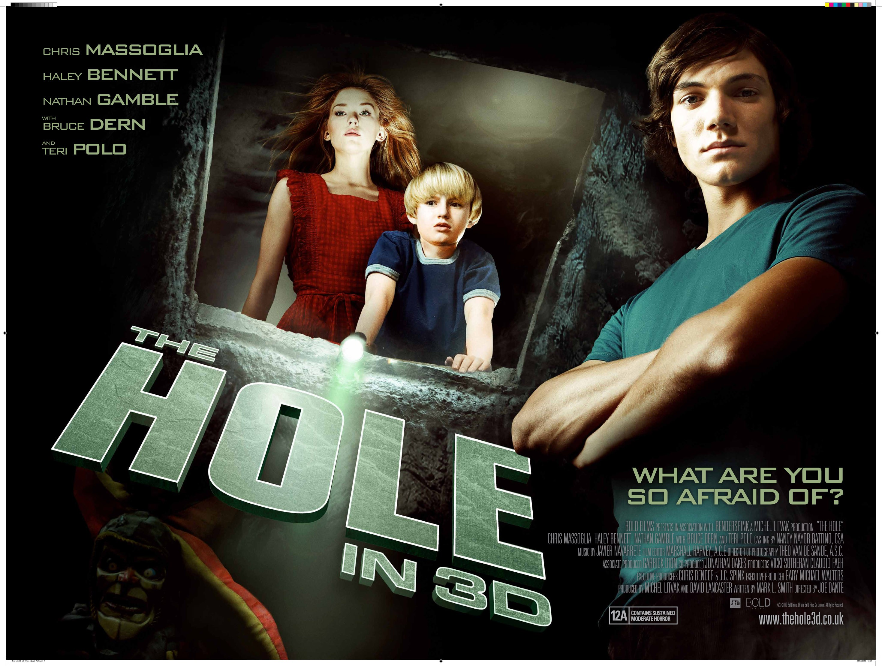 The Hole (2009) Movie review; A hole would have been the best place ...
