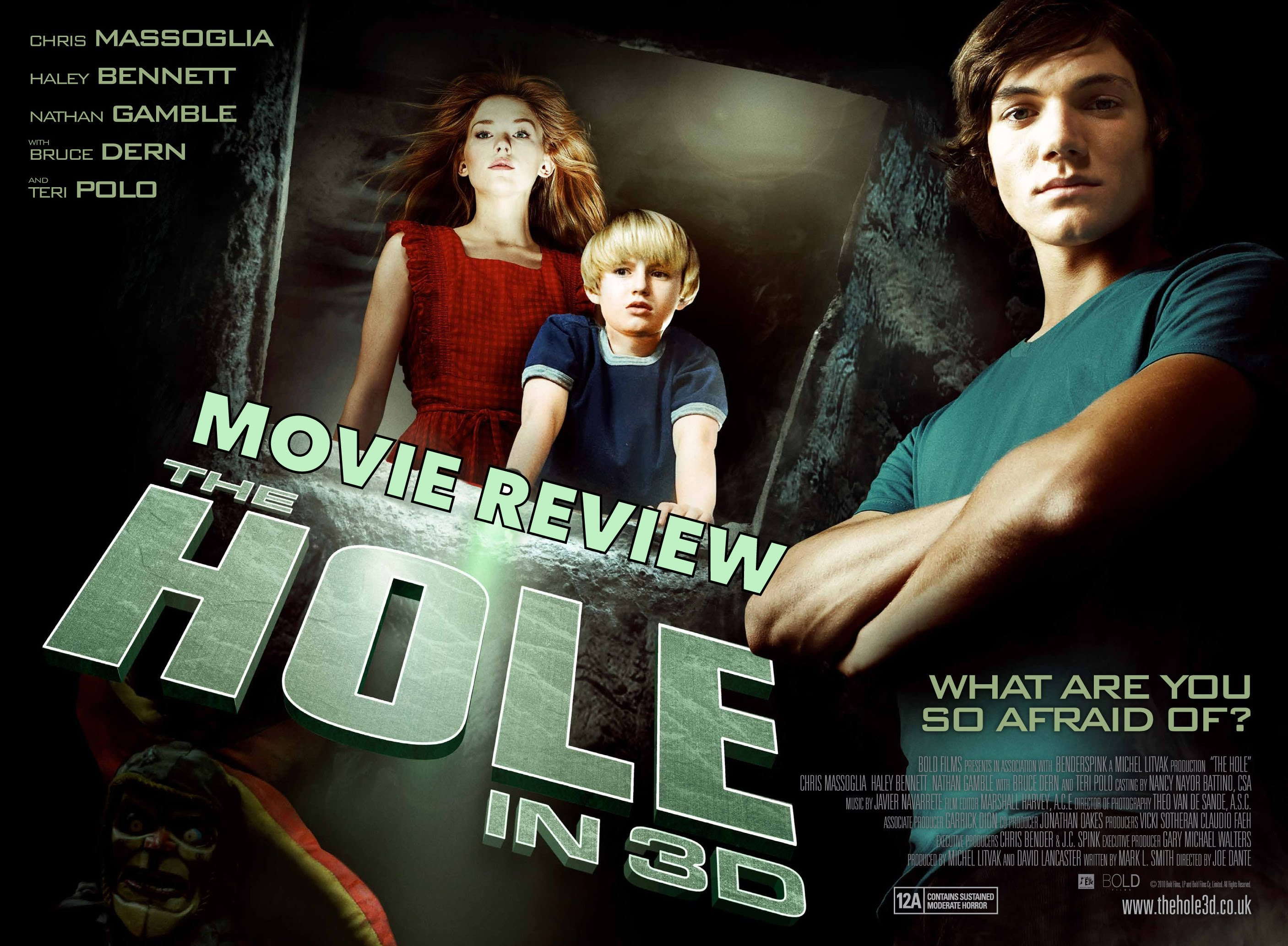 Movie Review: The Hole (2009) - YouTube
