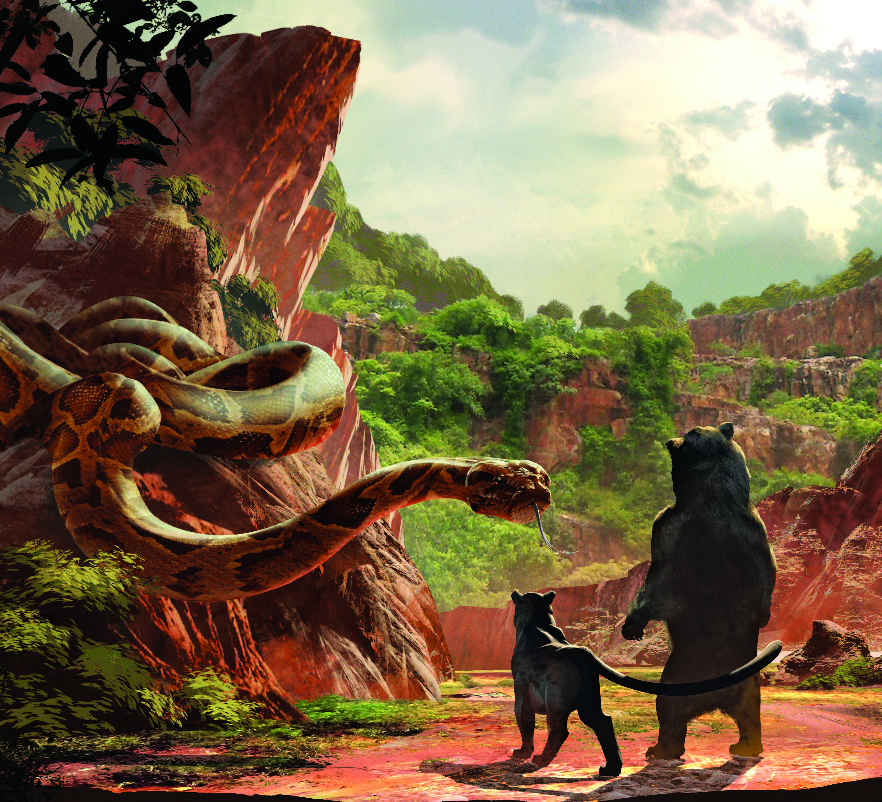 Image - Jungle Book - Concept Art 3.jpg | Disney Wiki | FANDOM ...