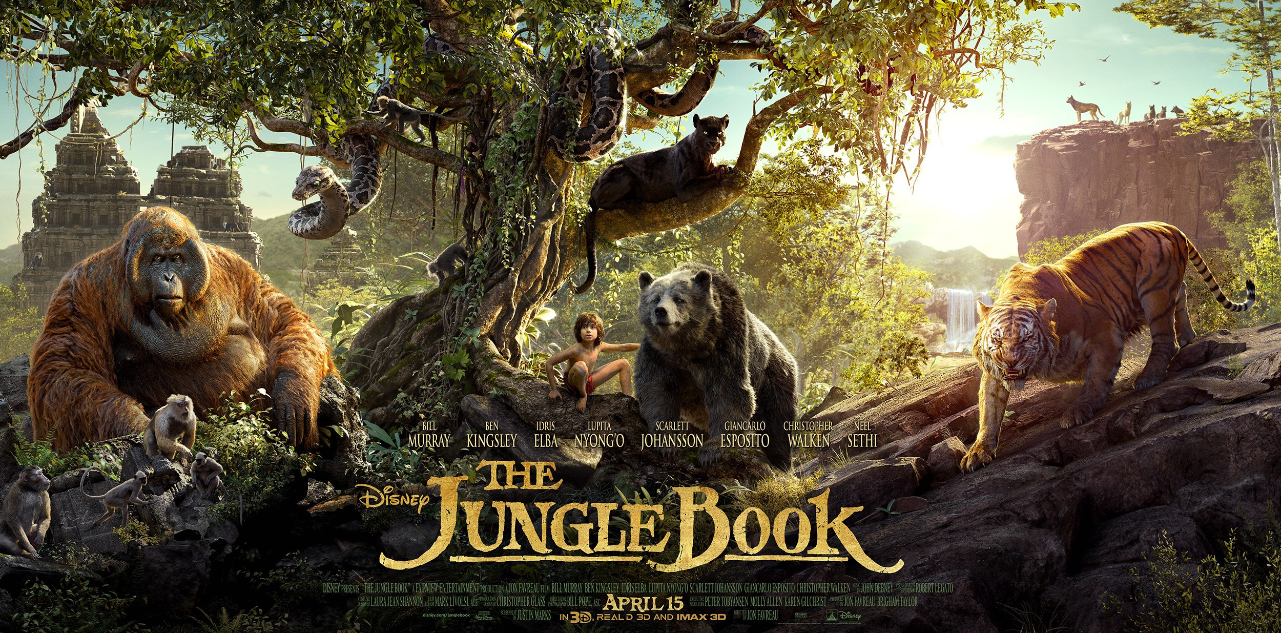 Film Review: The Jungle Book – Outlook AUB