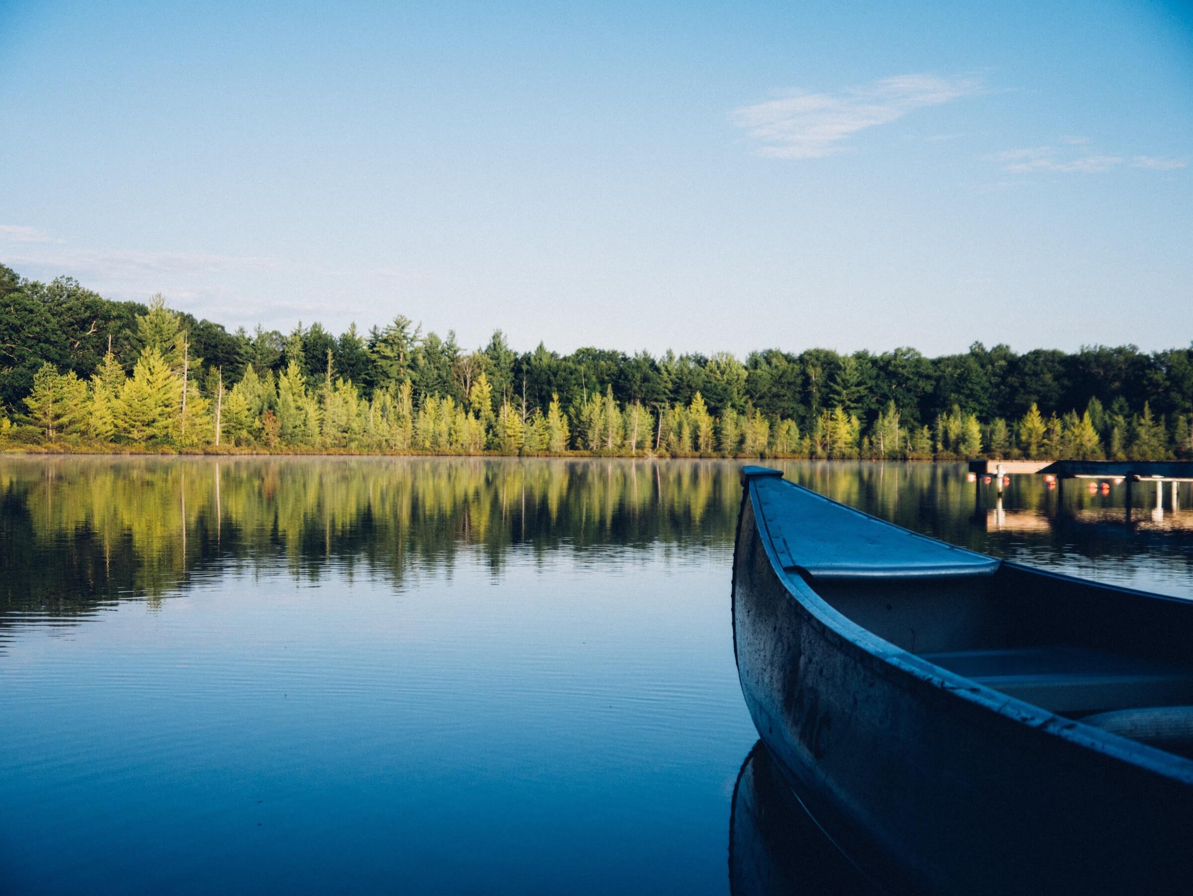 The lake photo
