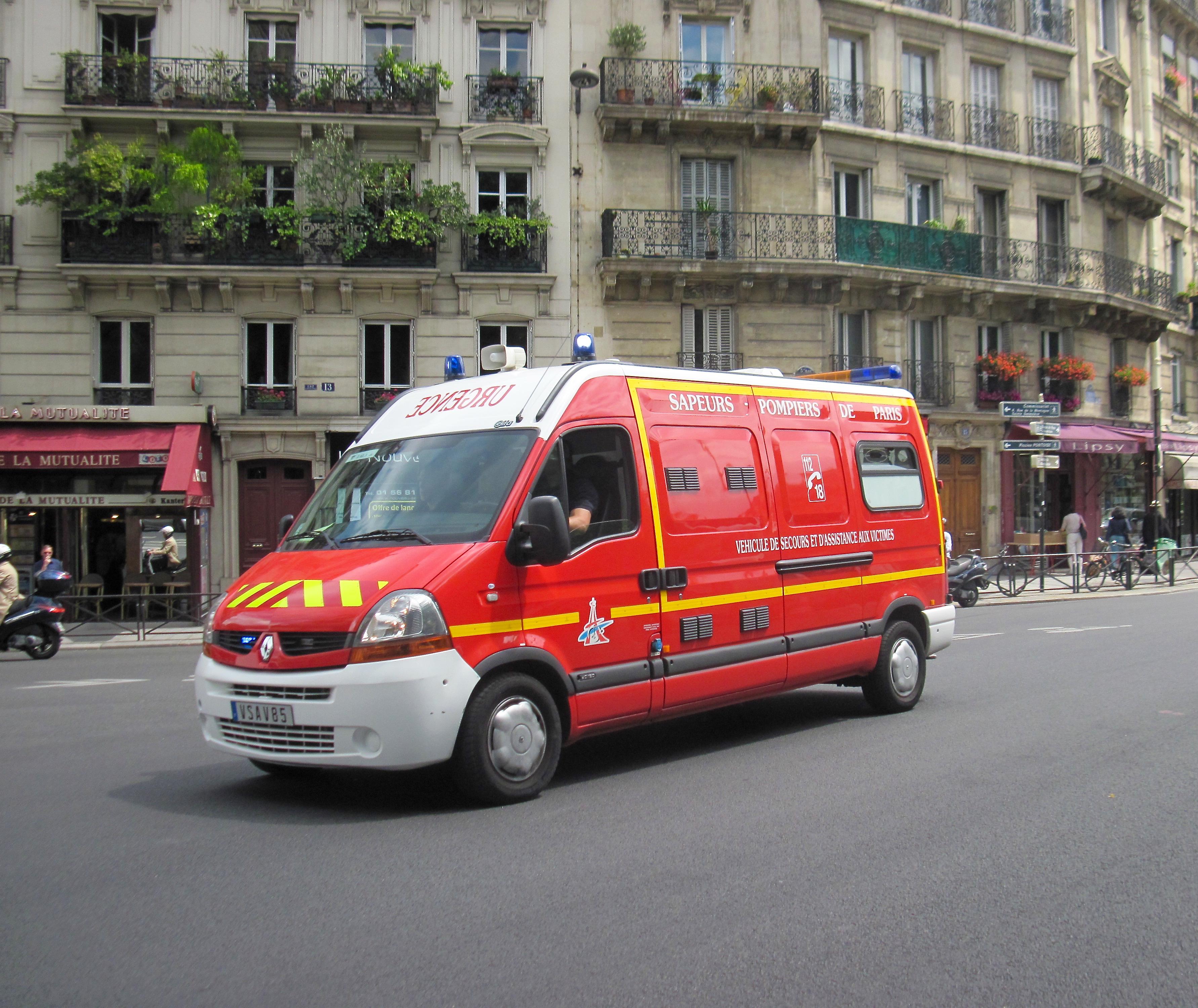 The LEAF Project: Professor Barbara Kruger @ France, Ambulance, Barbara, Car, FLCC, HQ Photo