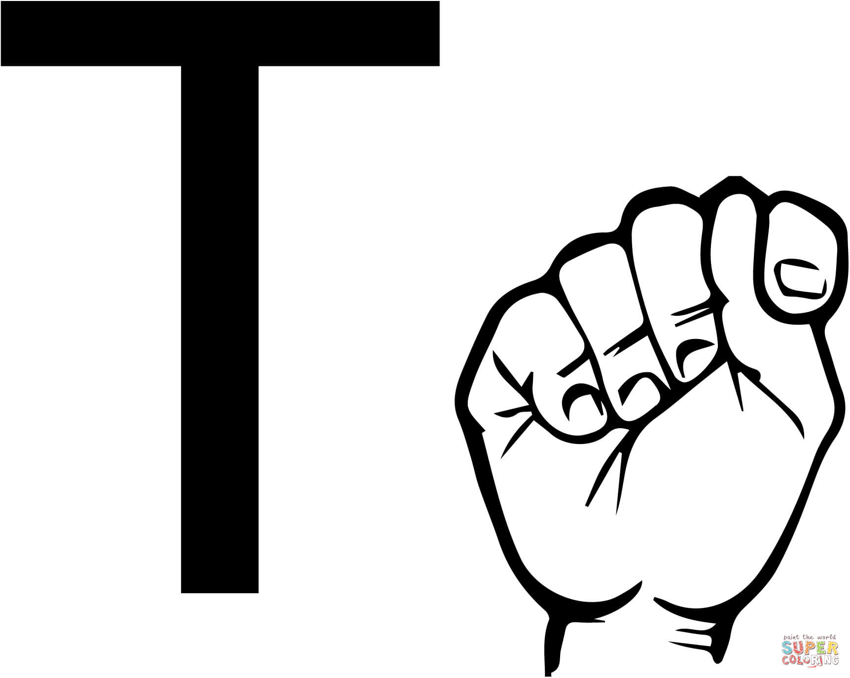 letter t coloring pages free coloring pages letter t coloring pages ...