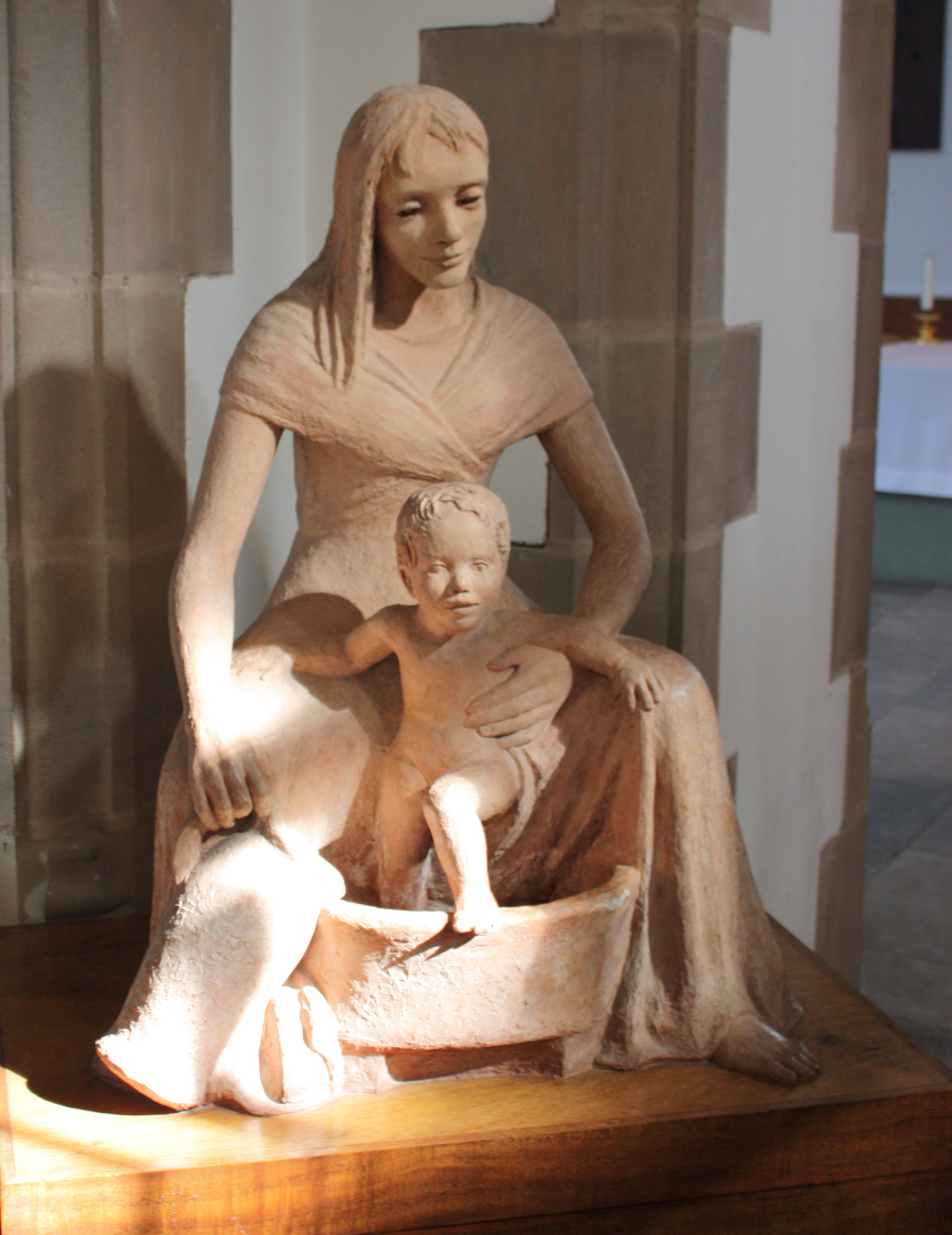 The madonna and child photo