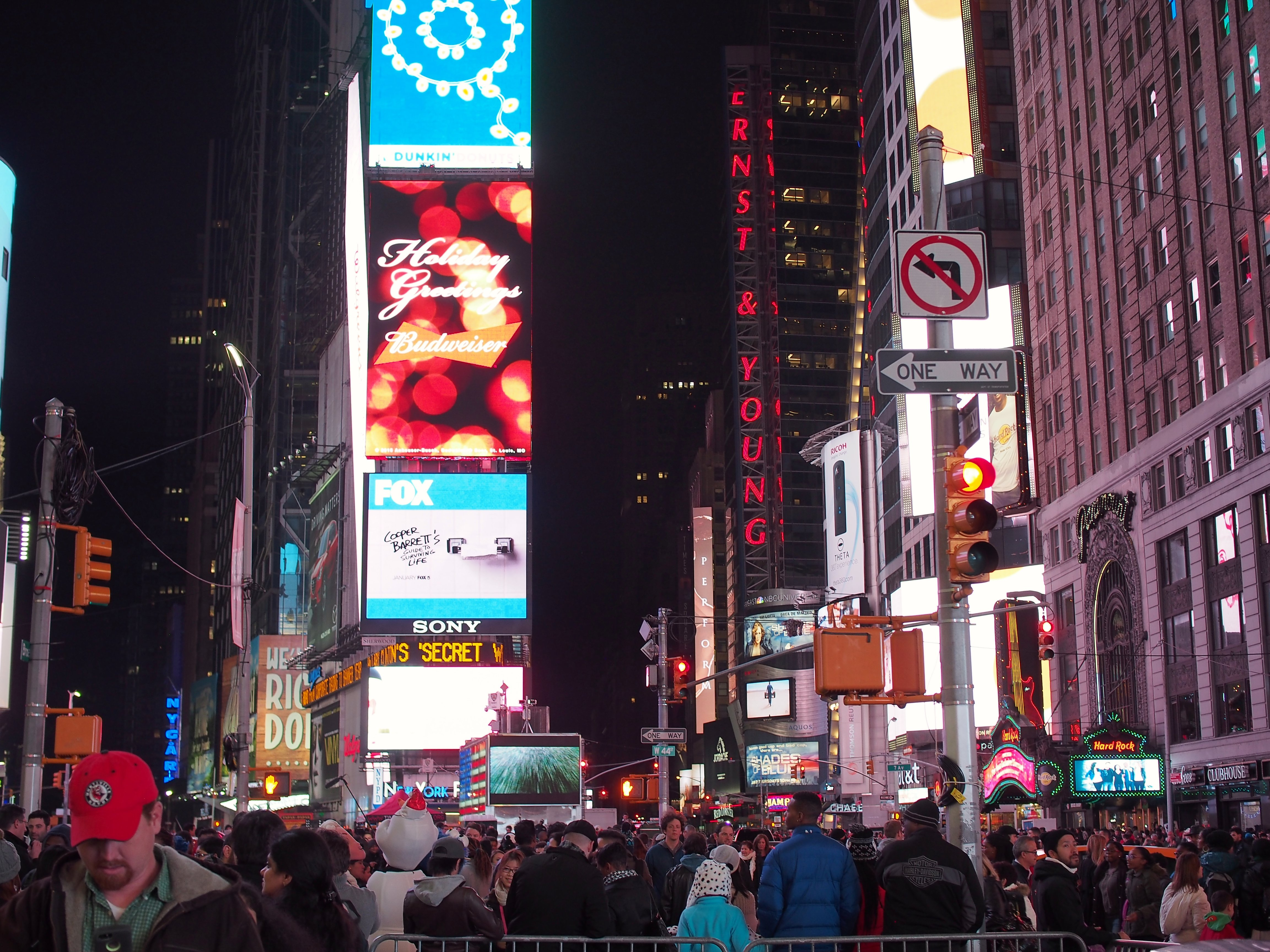 The mandatory Times Square at night, Architecture, City, New york, Night, HQ Photo