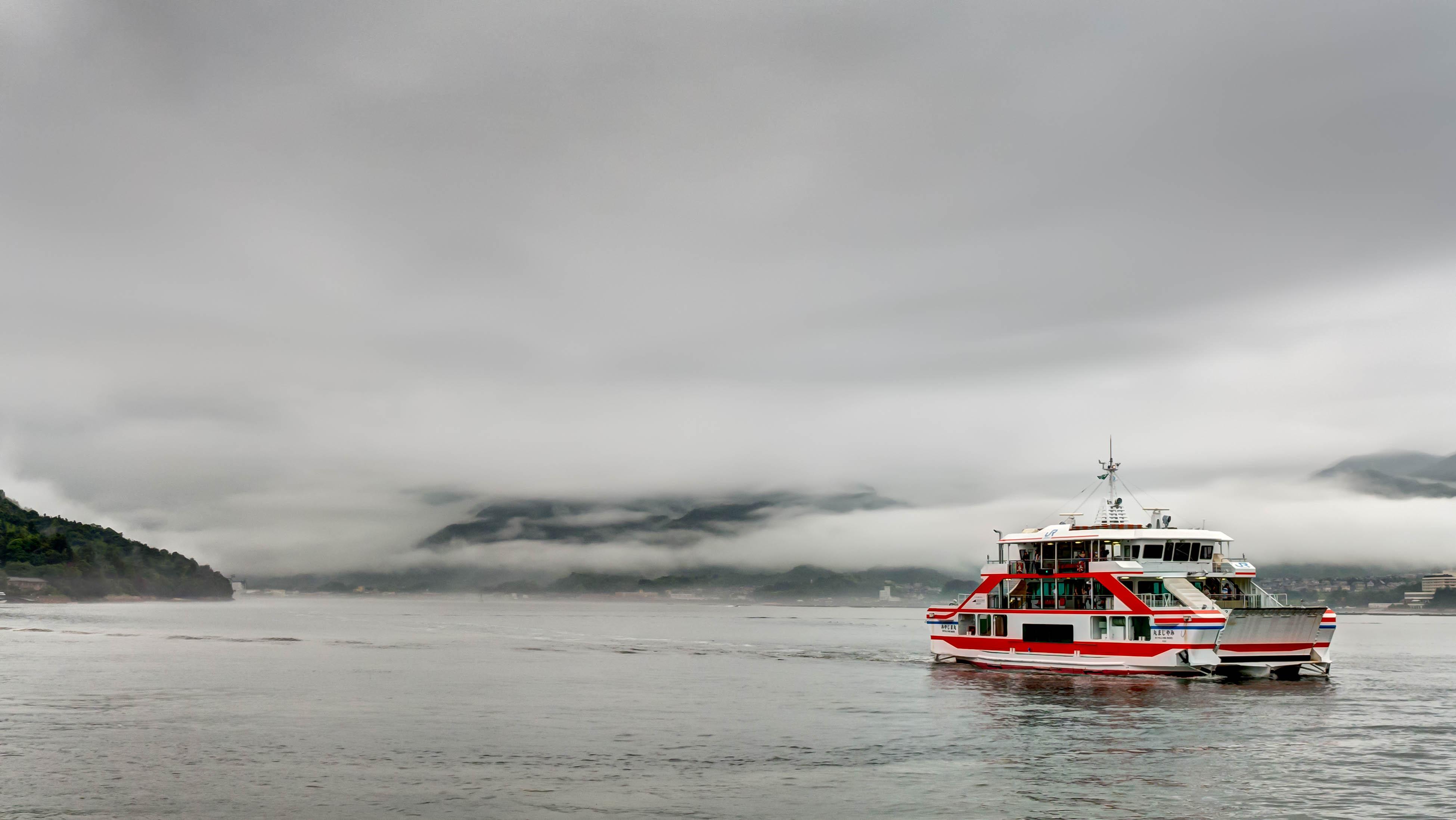 The Miyajima Ferry, 2014, Outdoor, Water, Vehicle, HQ Photo