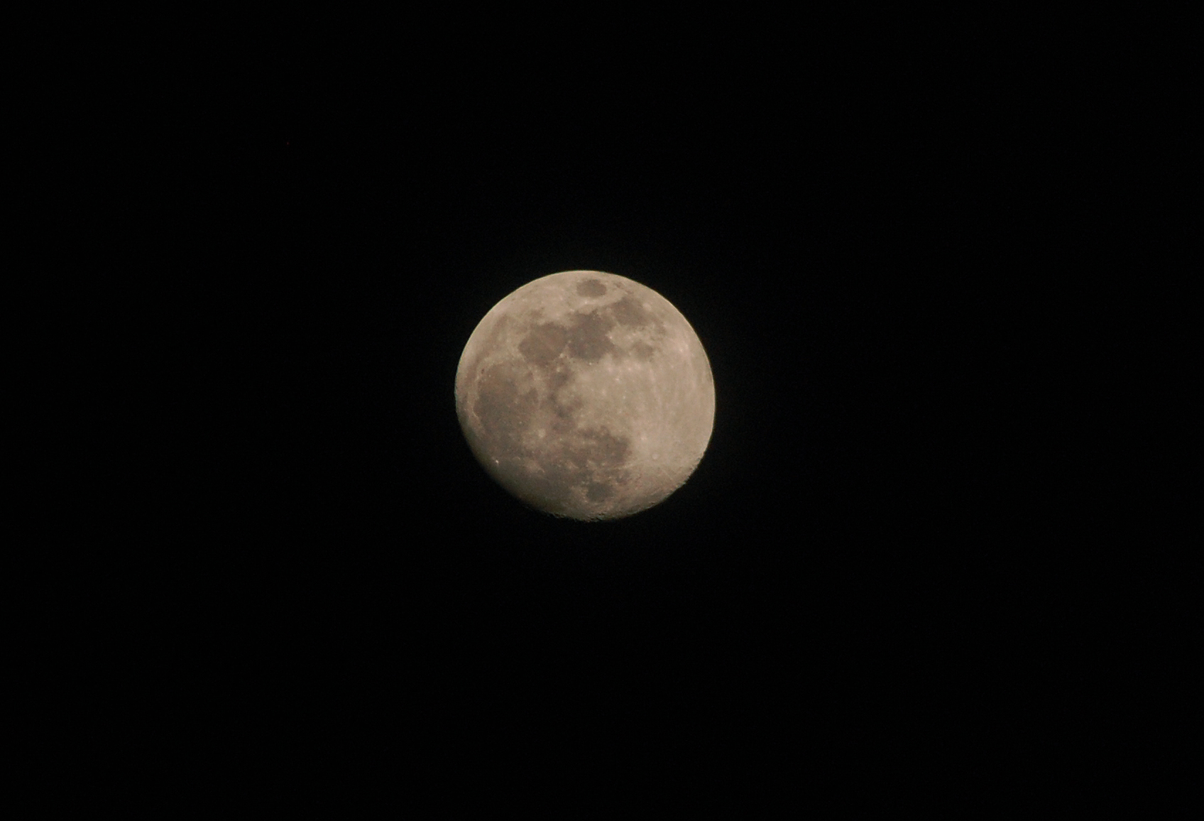 The moon photo