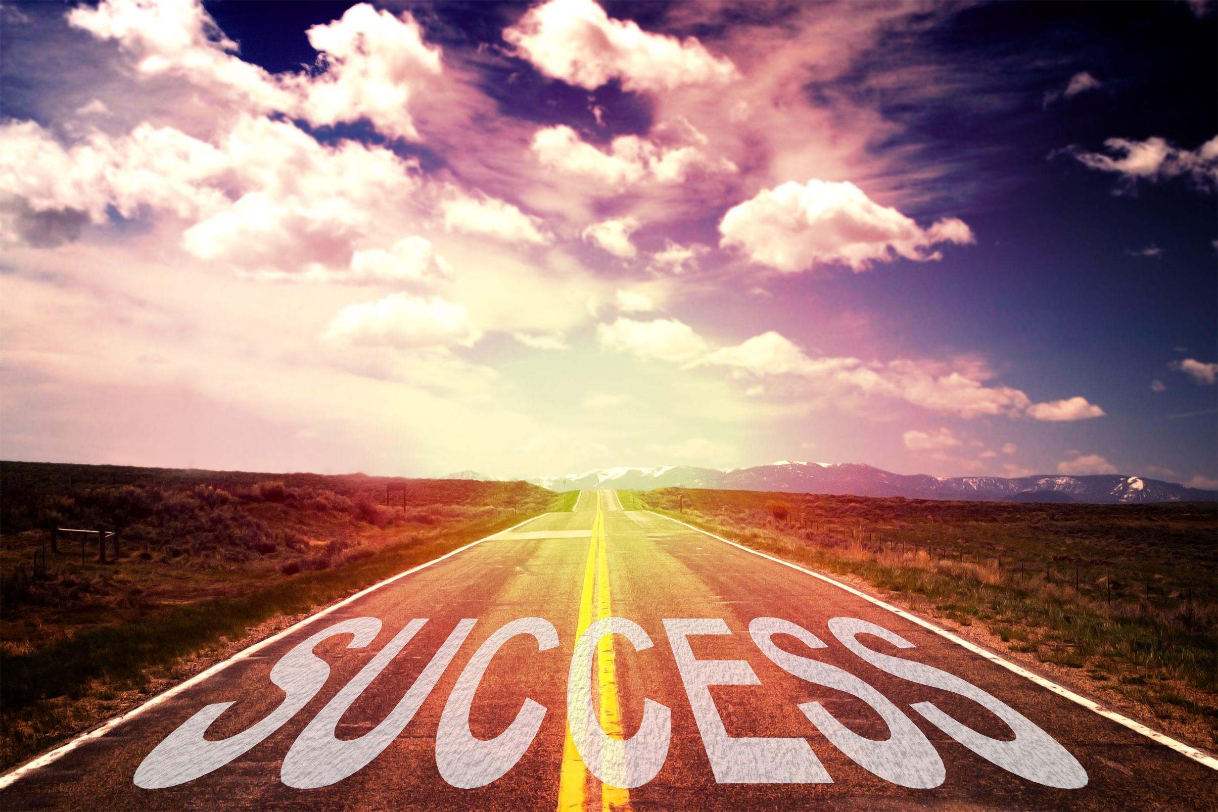 The road to success photo