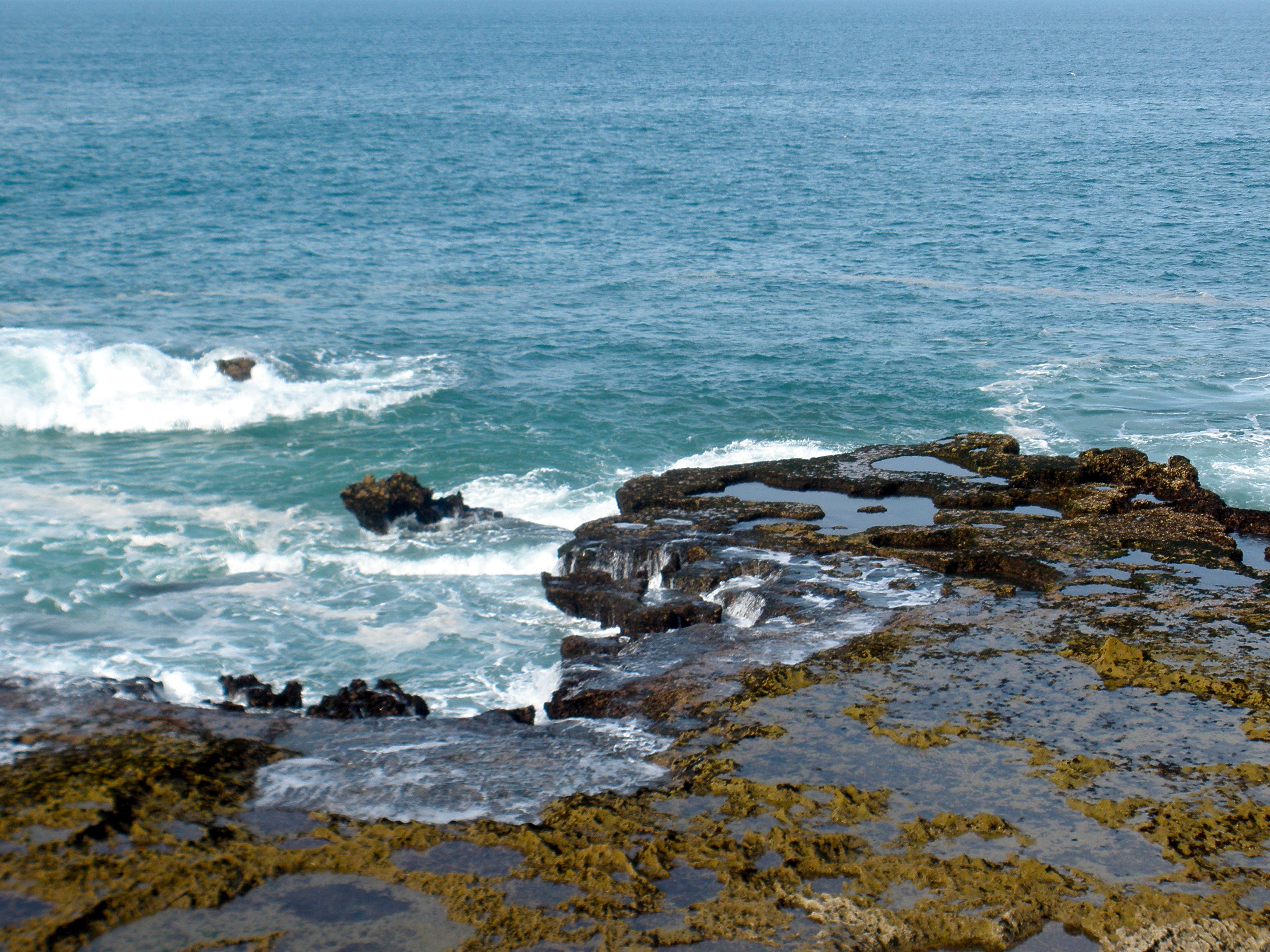 The sea at essaouira photo